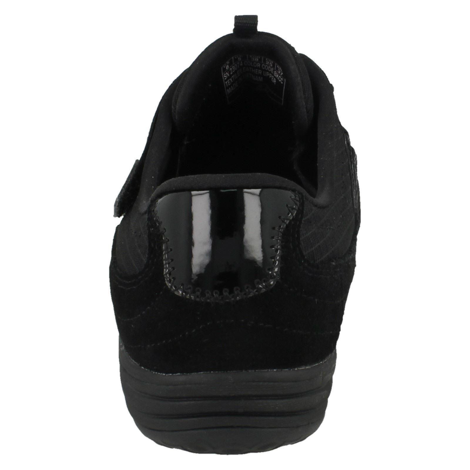 23074 Scarpe da da Esagonale incrociato antracite con ginnastica Skechers donna nero nero cinturino TfznT4FB