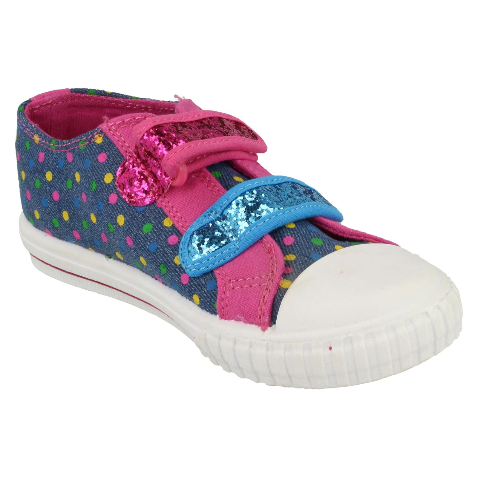Girls Goody 2 Shoes Dancia Canvas Shoes
