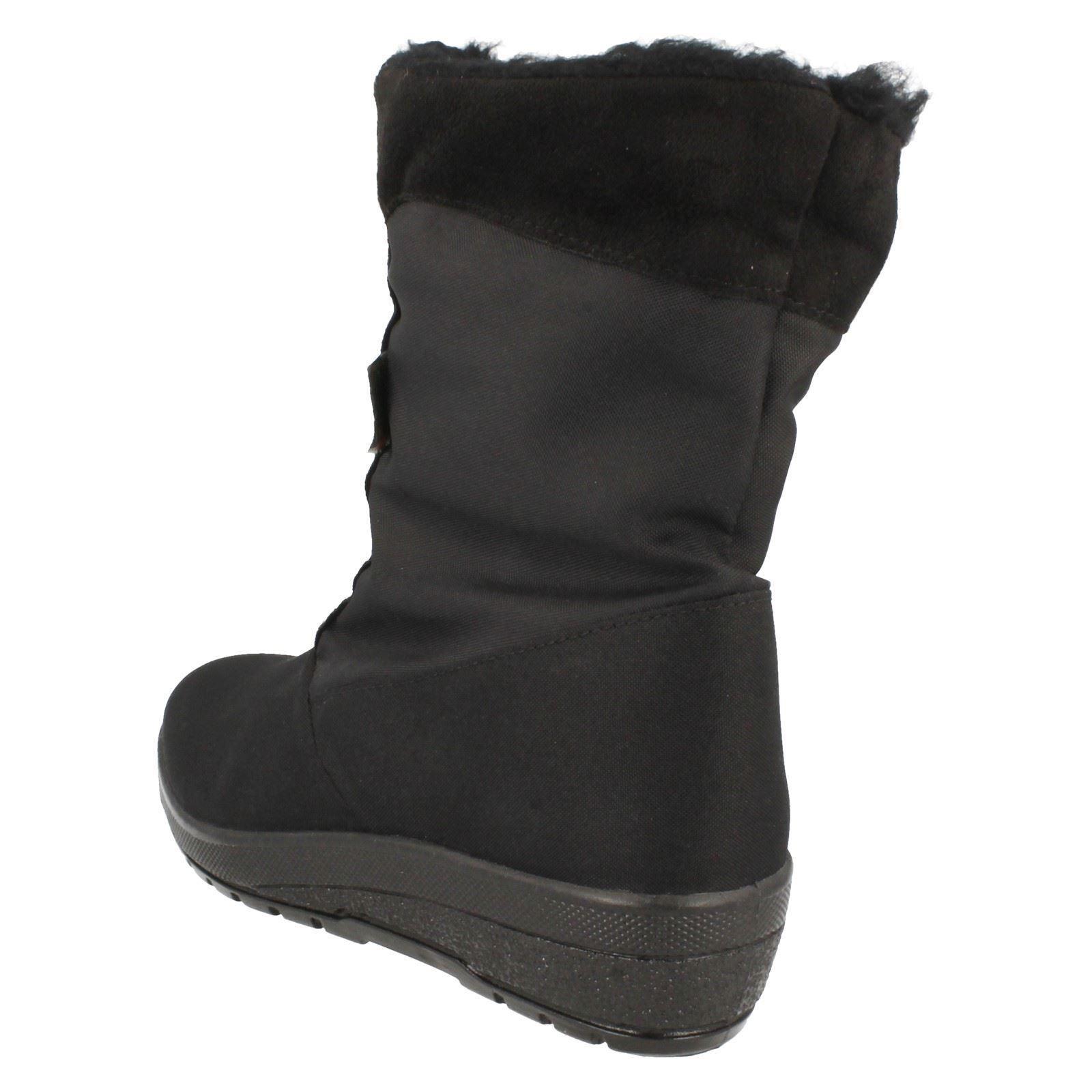 Womens T-Tex Fur Snow Lined Snow Fur Boots '8.732207' dd44a8