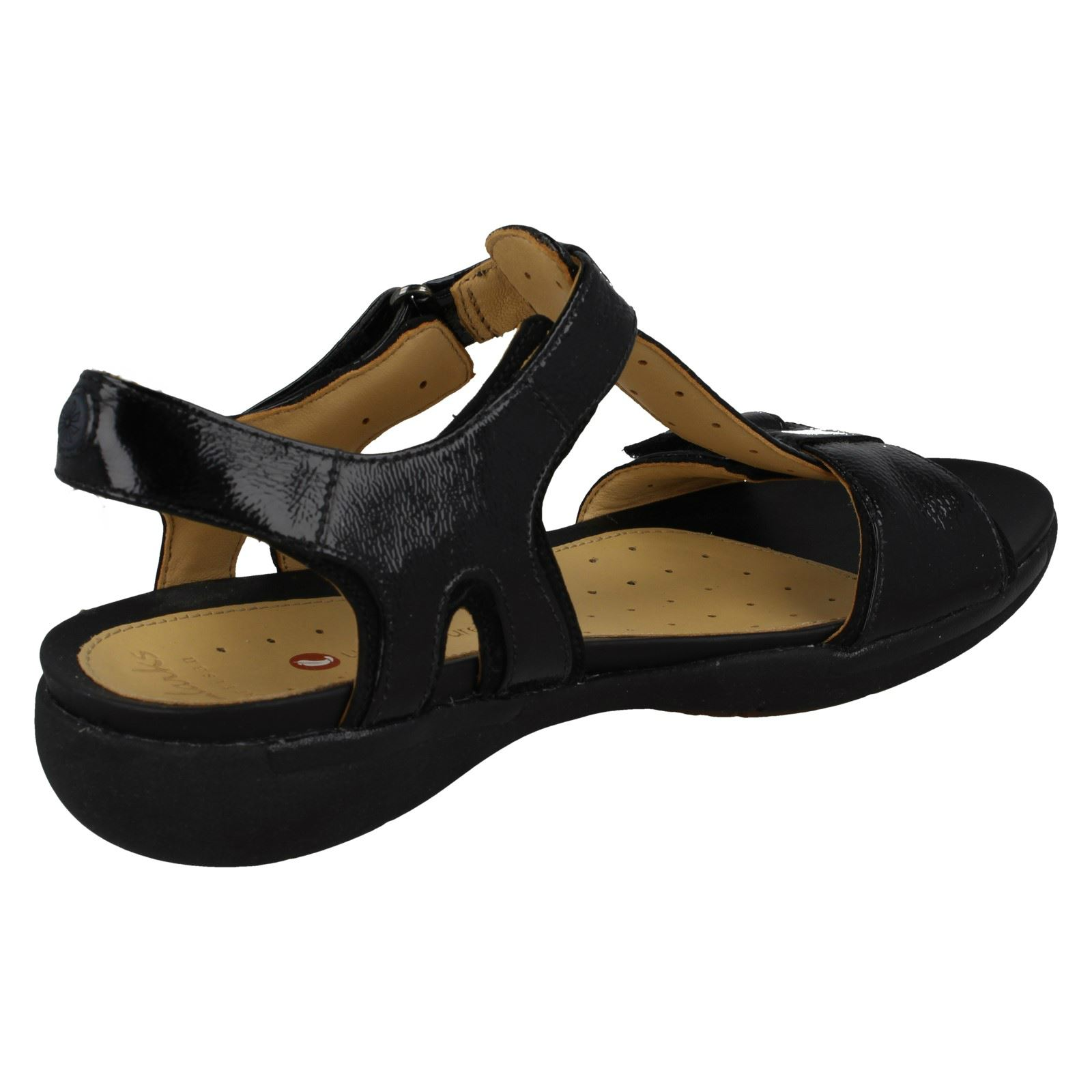 official new york cute Details about Clarks Unstructured Ladies Sandals Un Voshell
