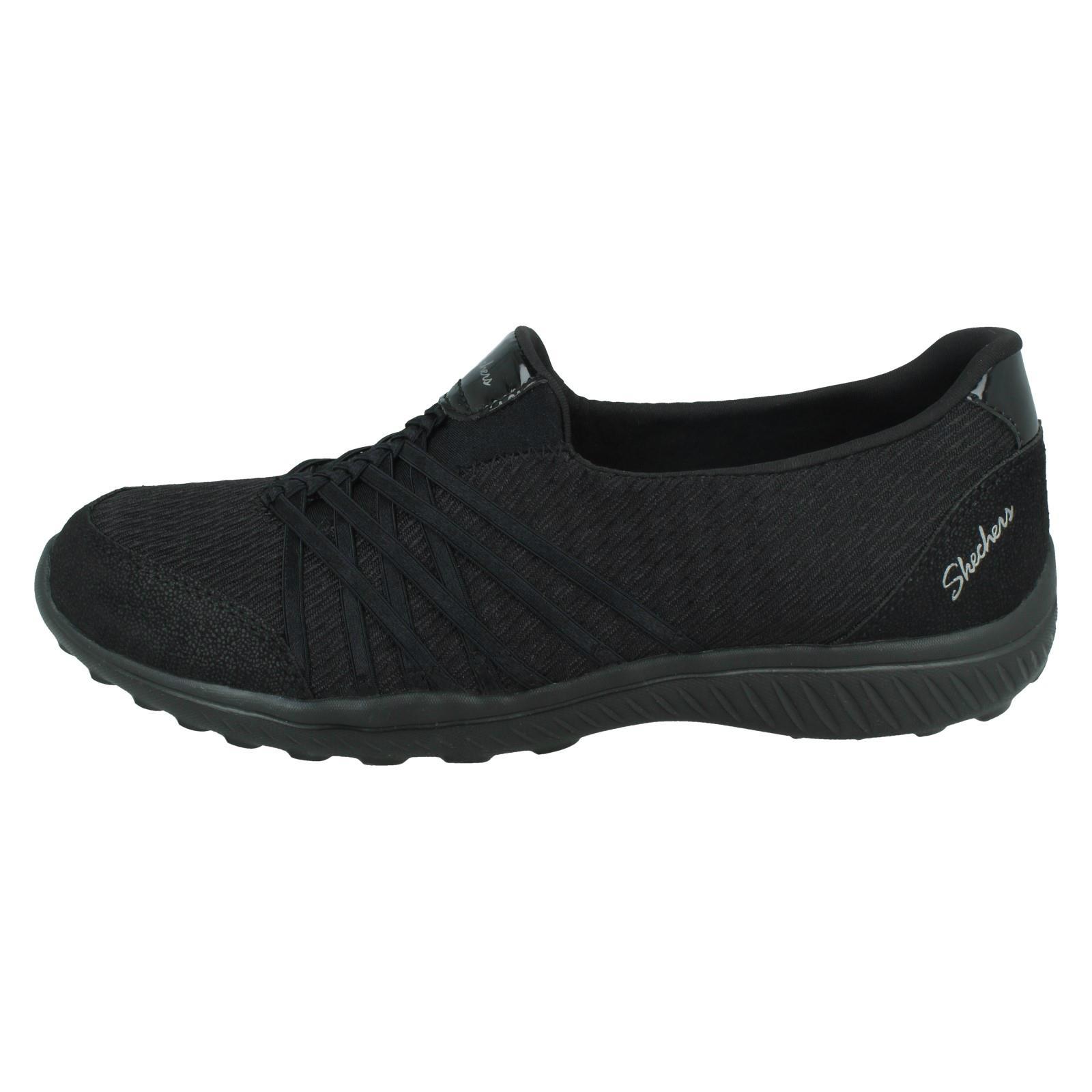 zapatos skechers mujer sin cordones amarillos