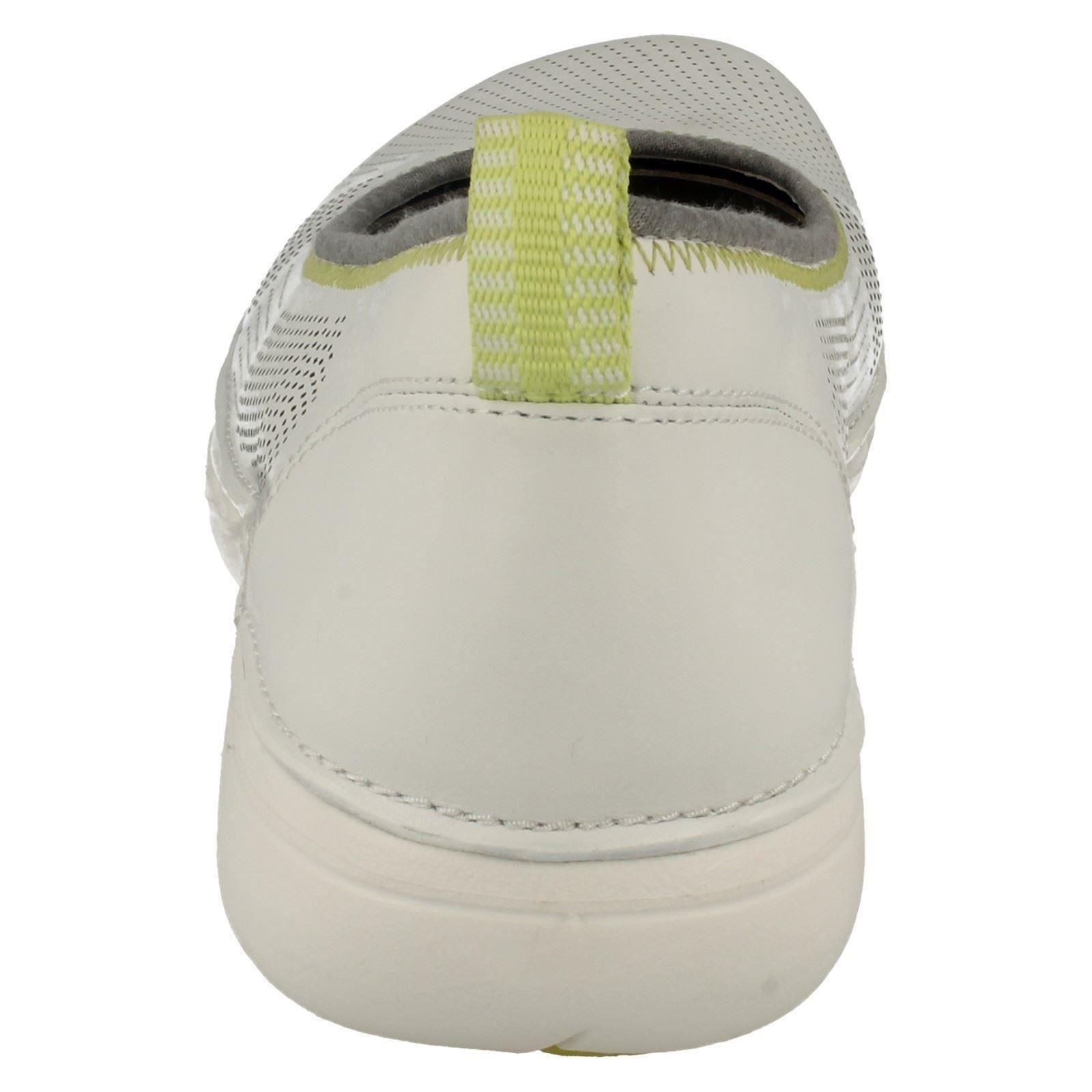 Shoes Elita Unstructured Damas White Casual Un Clarks XwOXUxB