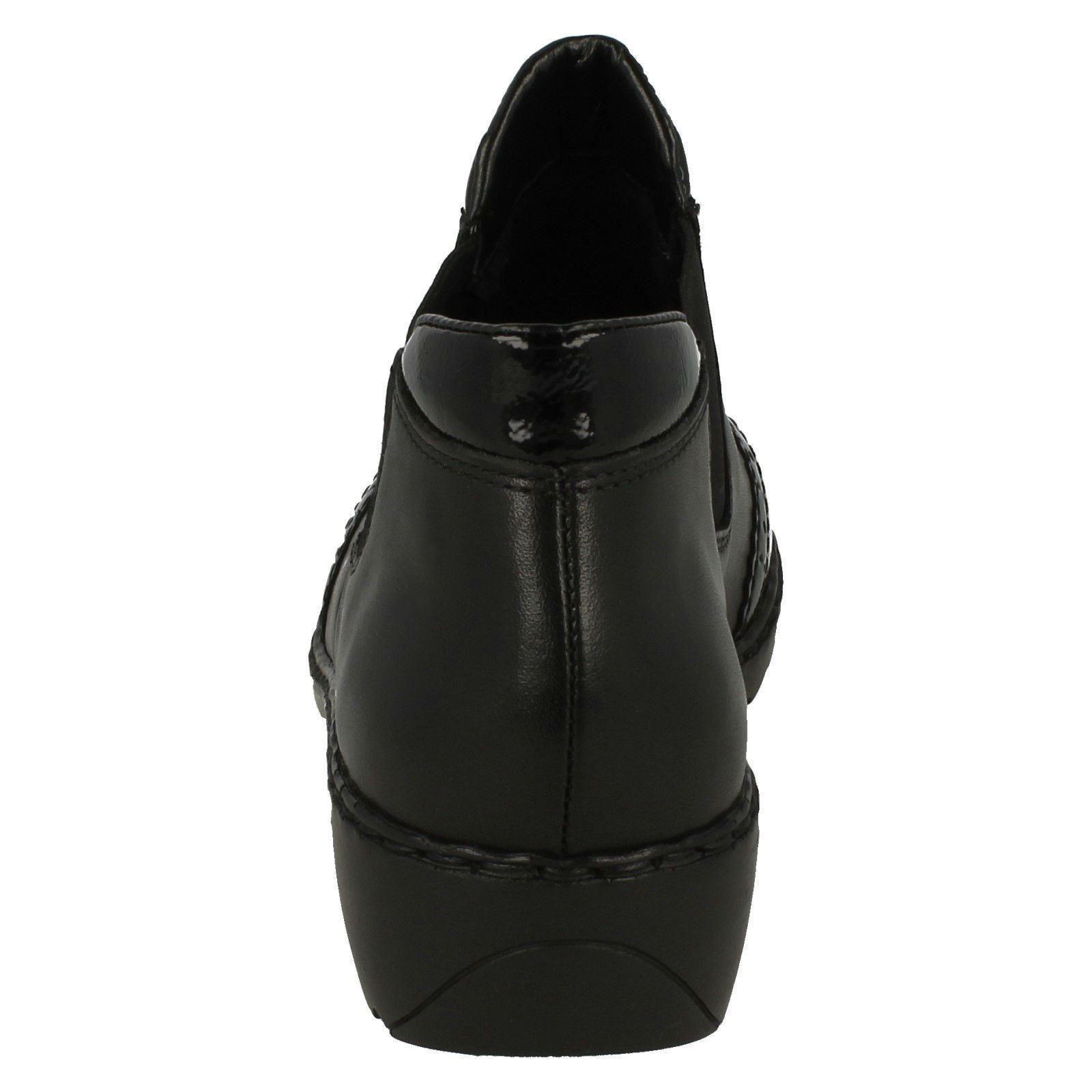 Damenschuhe Rieker Brogue Brogue Rieker InspiROT Stiefel L6099 8672ad