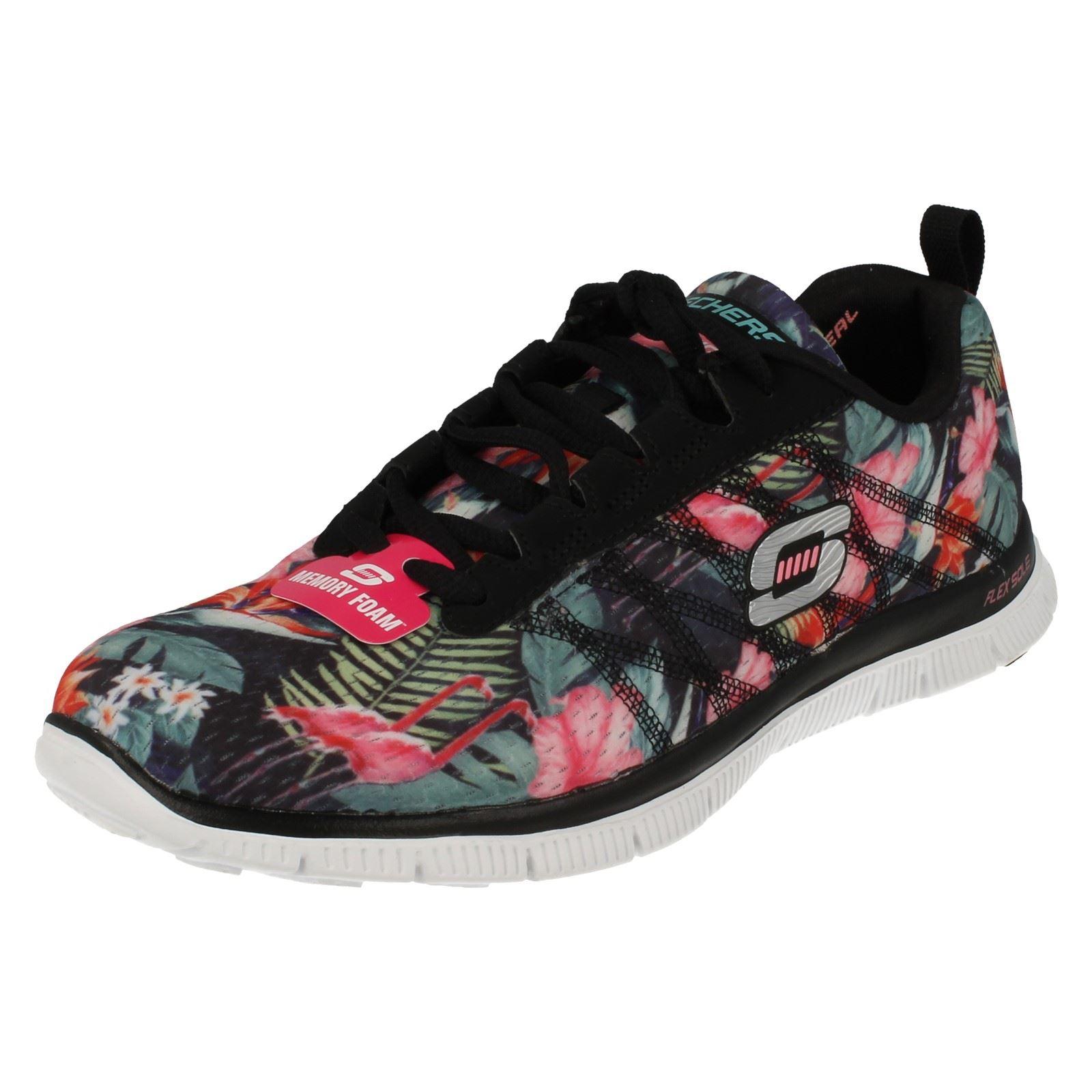 Flex Appeal Floral Bloom   Skechers, Shoes, Skechers mens
