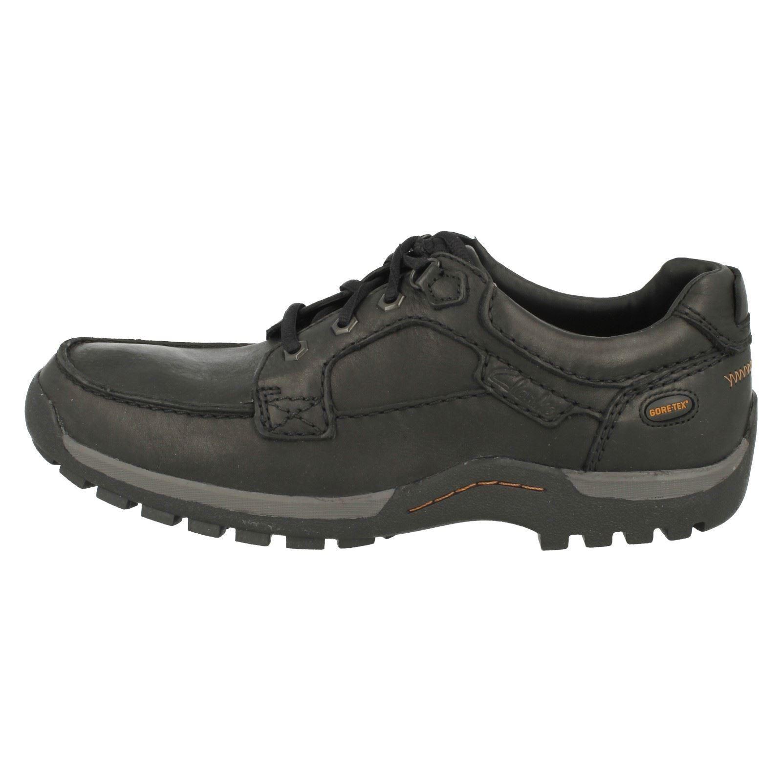 Uomo Clarks Rain Casual Lace Up Schuhes, Rain Clarks Tech GTX 013fca