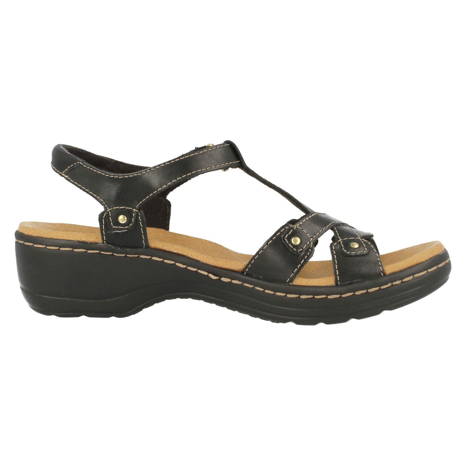 Sandalias de cuero señoras Clarks Hayla Flute