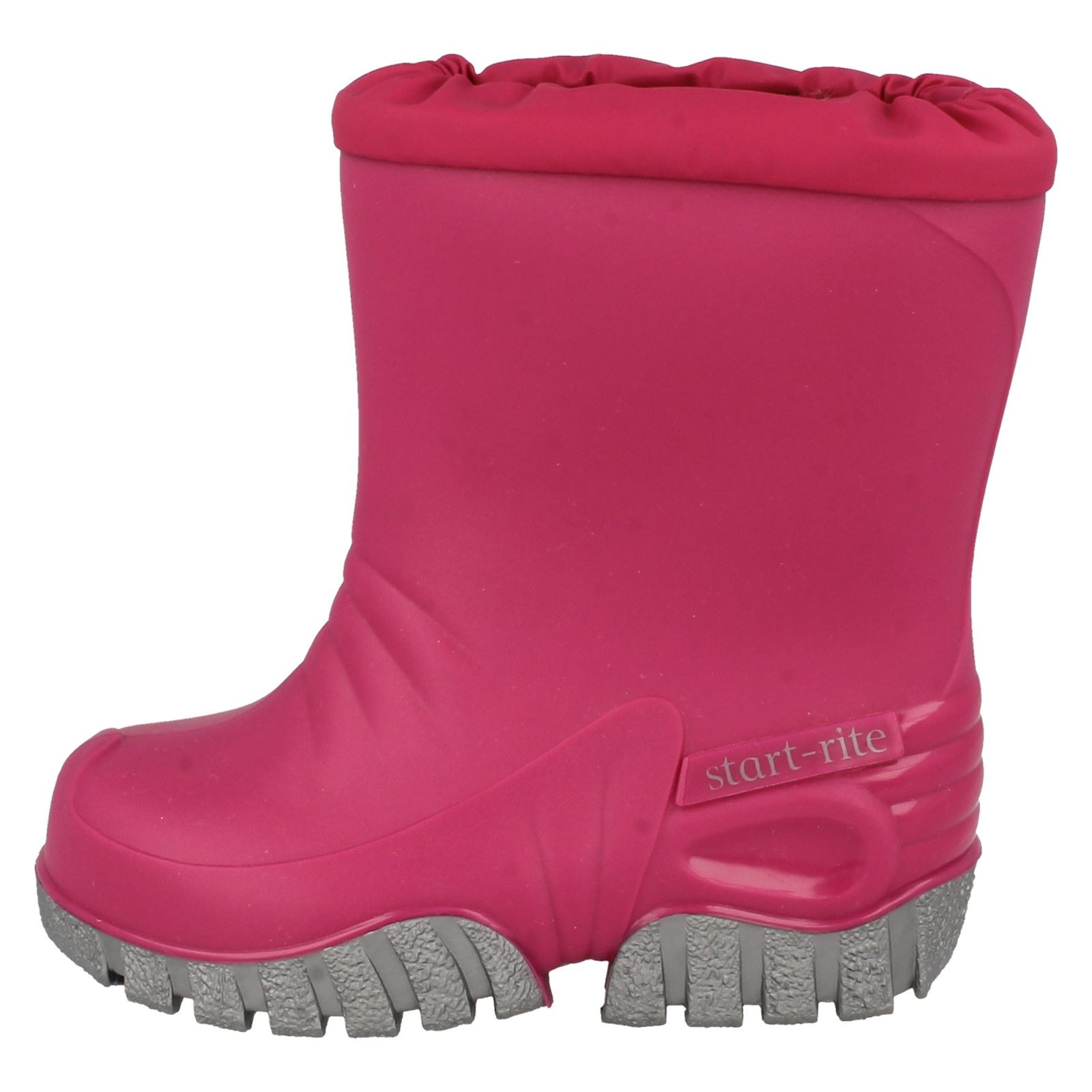 Childrens Unisex Boys Girls Startrite Fleece Wellingtons Mud Buster