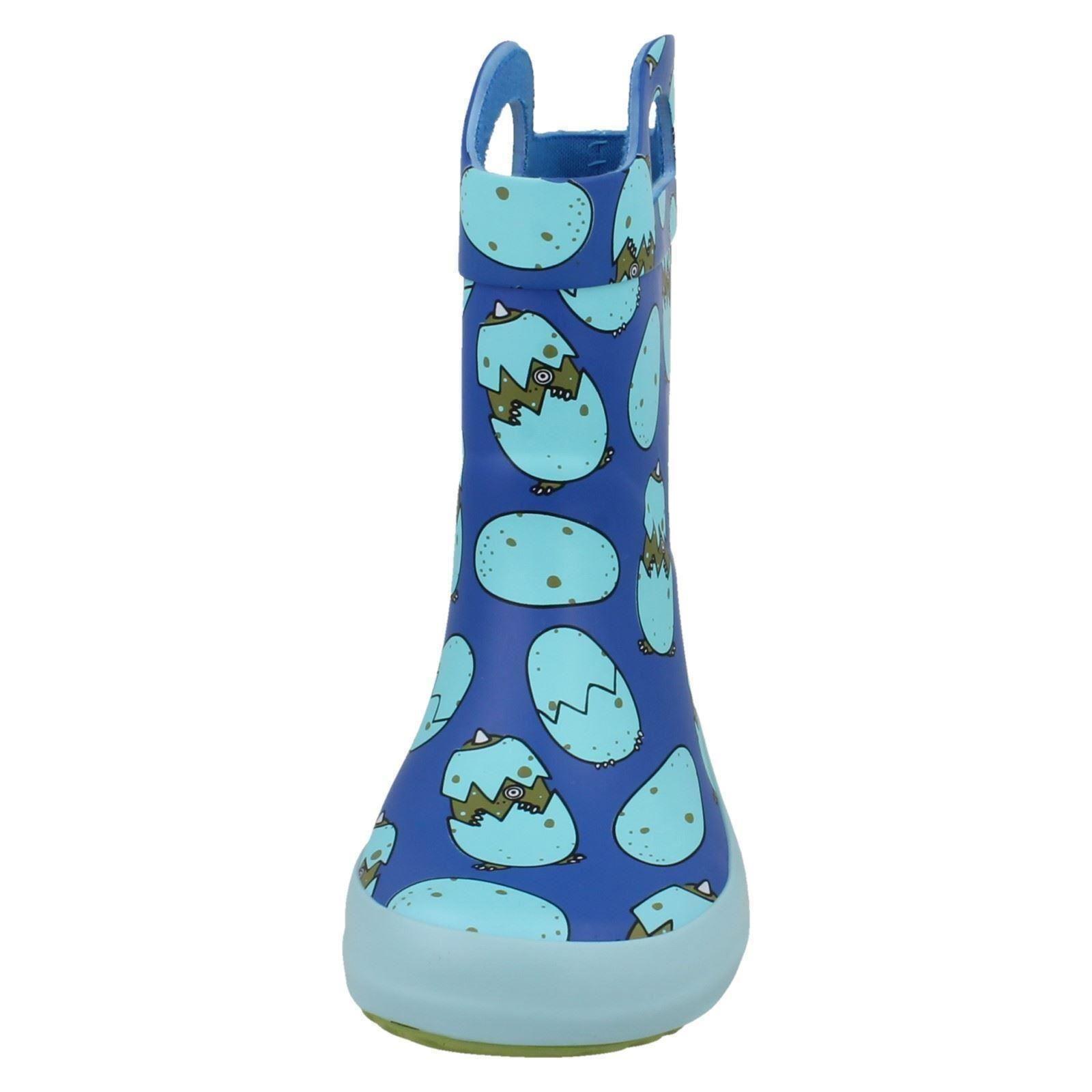 Boys Clarks Wellington Boots Tarri Rex