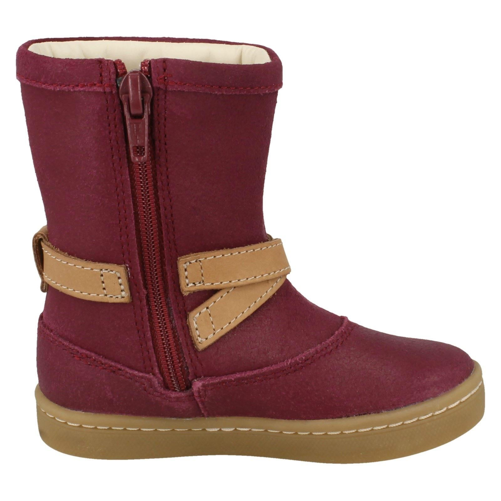 casual chicas May para Botas morado Cute Clarks Plum 4EfddSWqp
