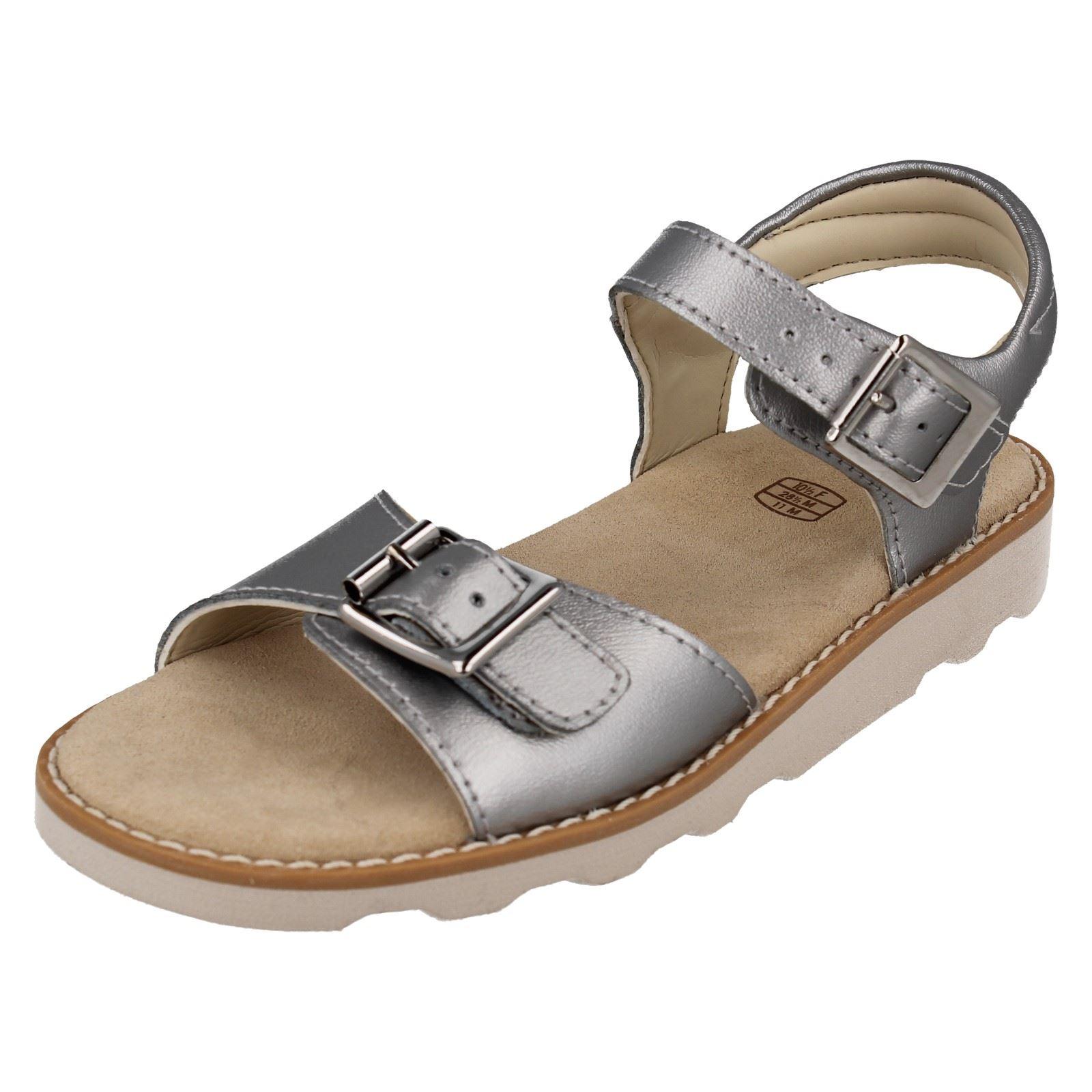 Clarks Girls Casual Summer Sandals Crown Bloom K Ebay