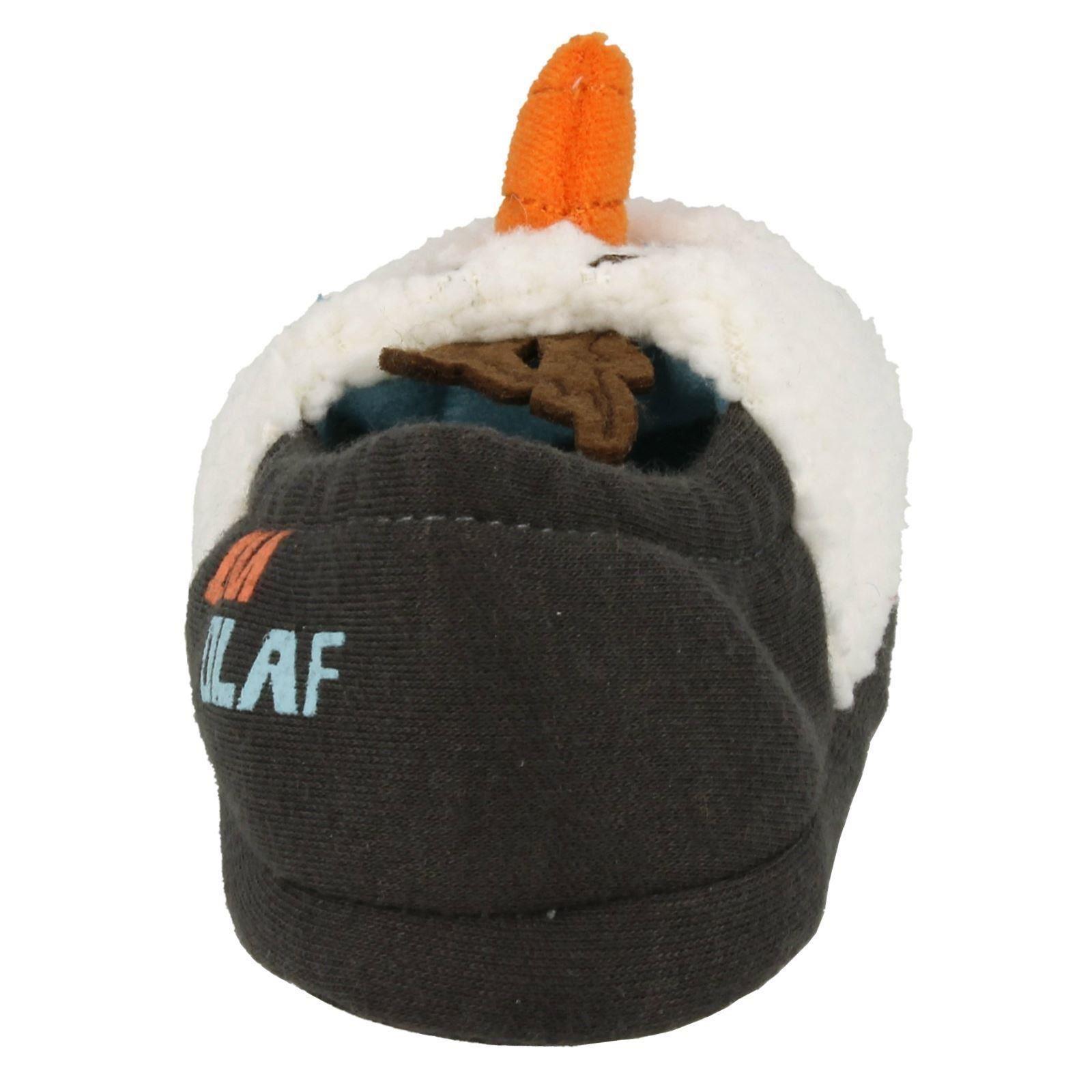 crème Olaf ivoire garçons fantaisie Frozen Disney carottes pour Chaussons gris pour xTOZnx
