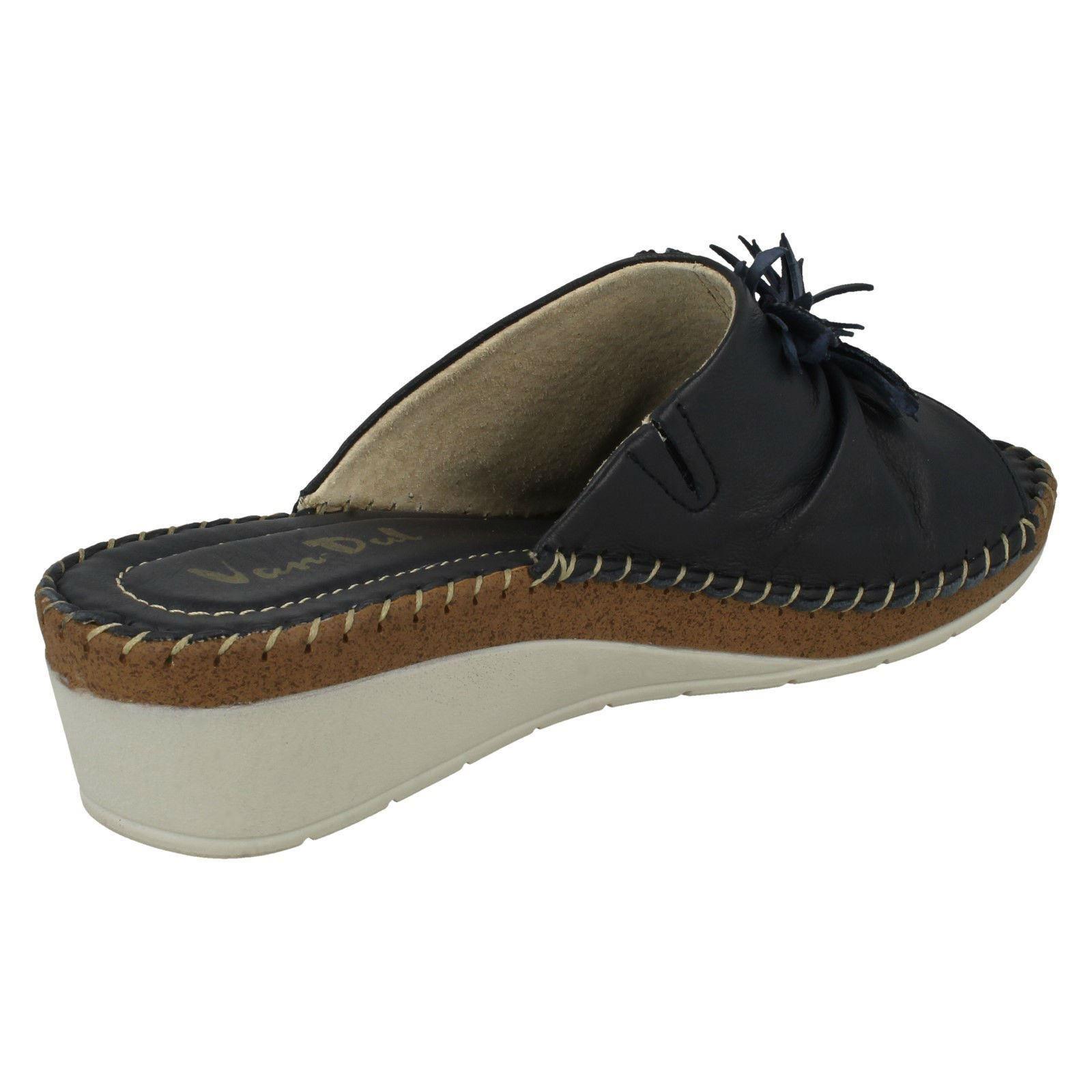 Ladies-Van-Dal-Wedge-Heel-Mule-Sandals-039-Banks-039 thumbnail 12