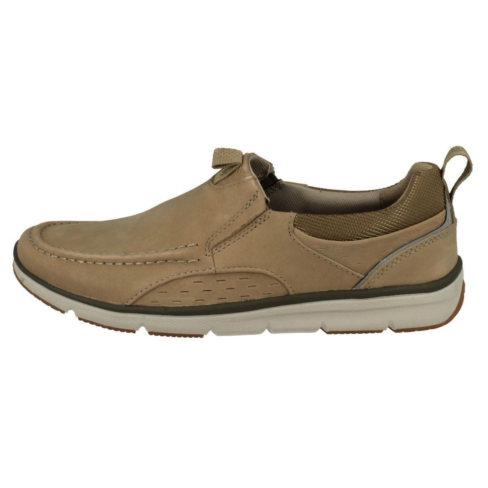 On beige Row Moccasin Clarks Mens Sand Style Slip Orson Shoes zHWqPI