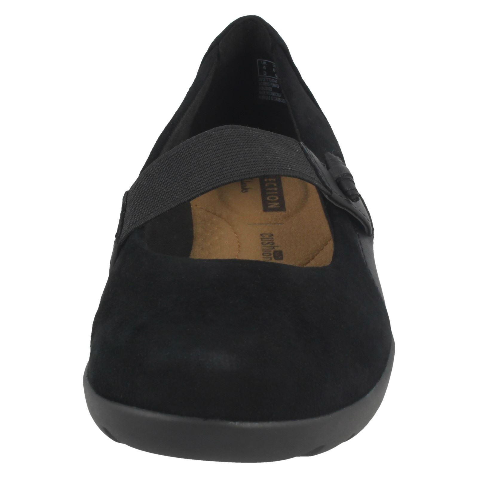 Details zu Clarks Damen Elastischer Band Schuhe Medora Frost