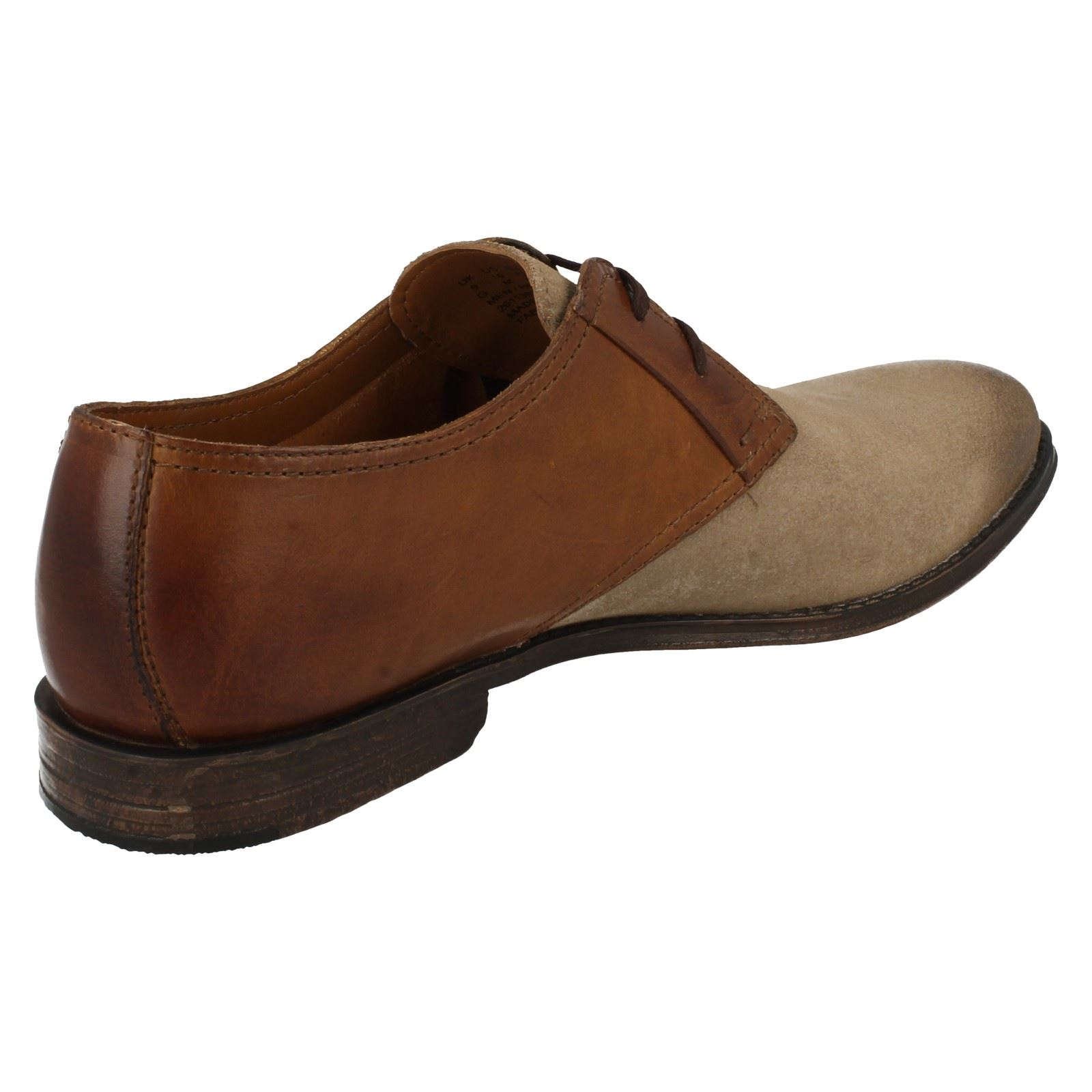 Hawkley Walk Combi Shoes Wolf Clarks Smart Mens marrone nvAwt6UAq