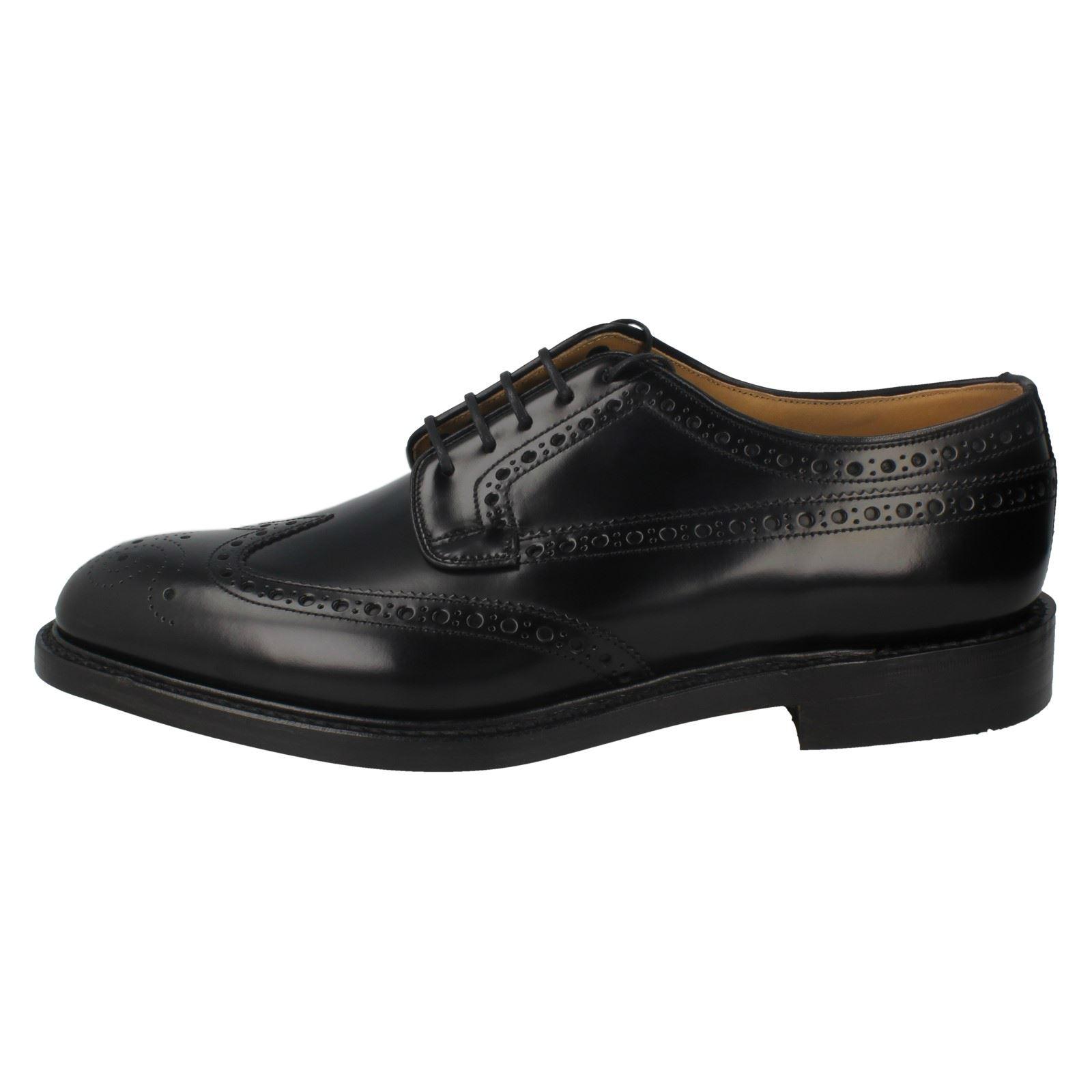 Mens Loake Smart/Formal Brogue Brogue Smart/Formal Shoes *Braemar* 918656