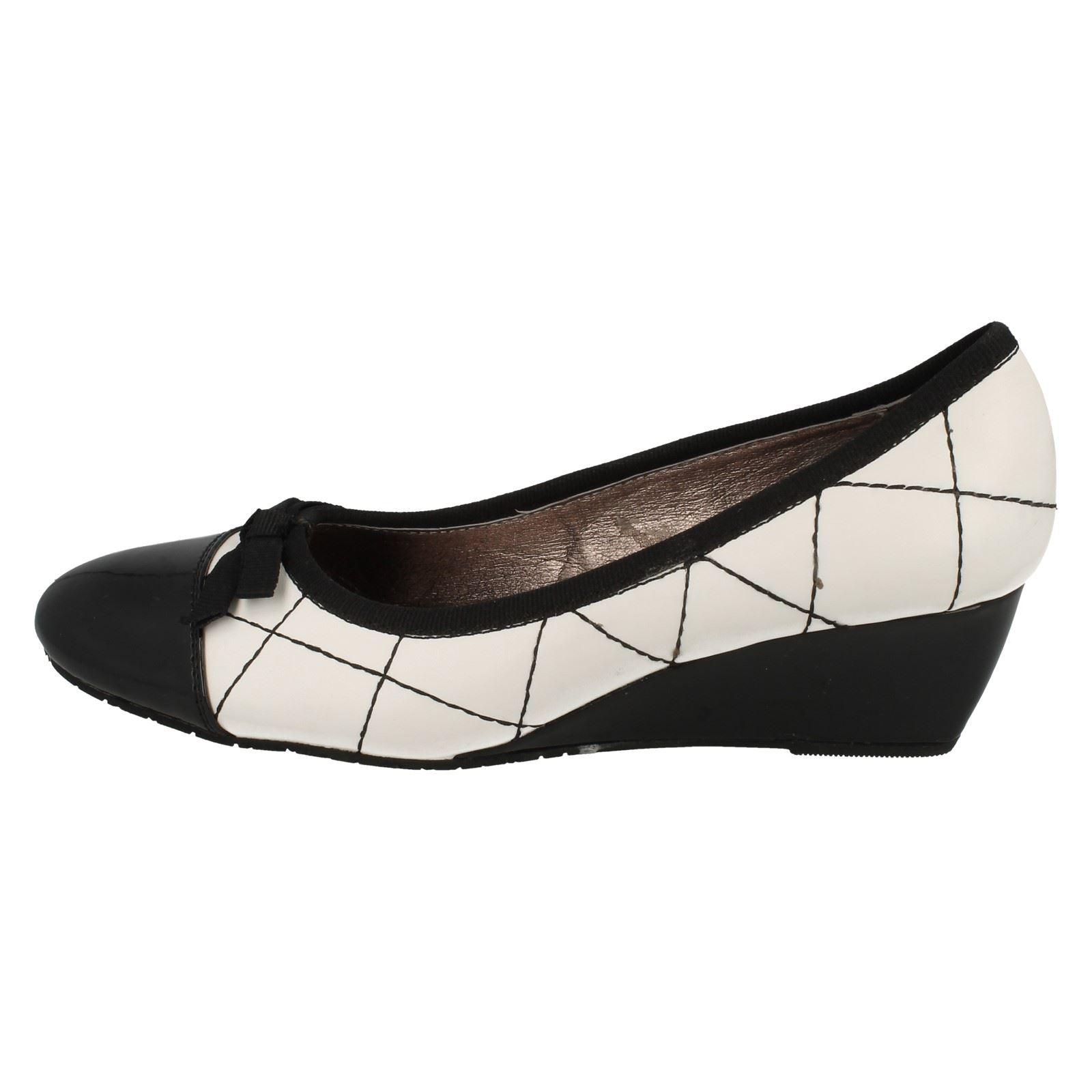 Ladies Ladies Ladies Van Dal Slip On Wedge Heel shoes Roxas 9fa0b0