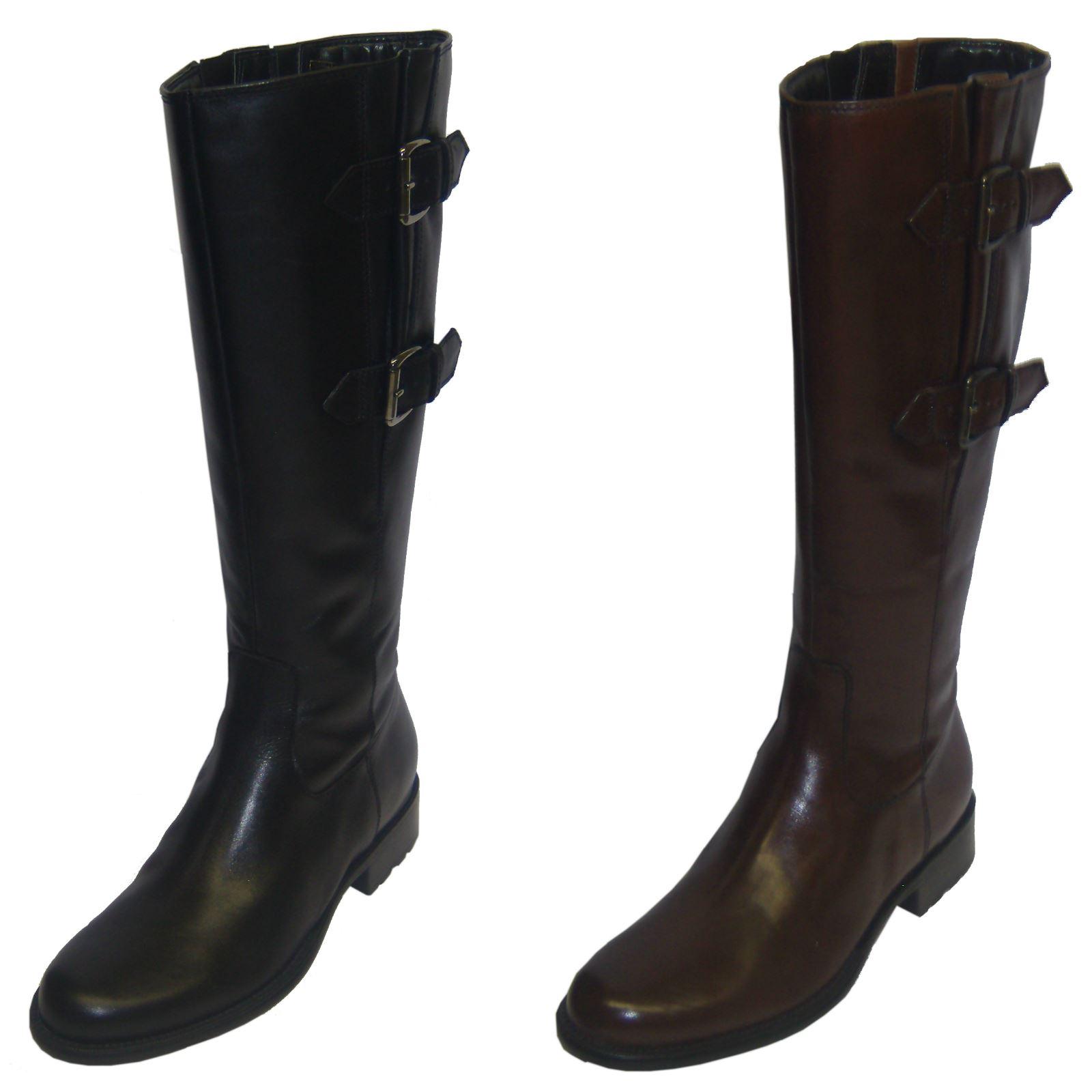 c23870a802bf6 Las señoras Van Dal ecuestre estilo botas de Danni