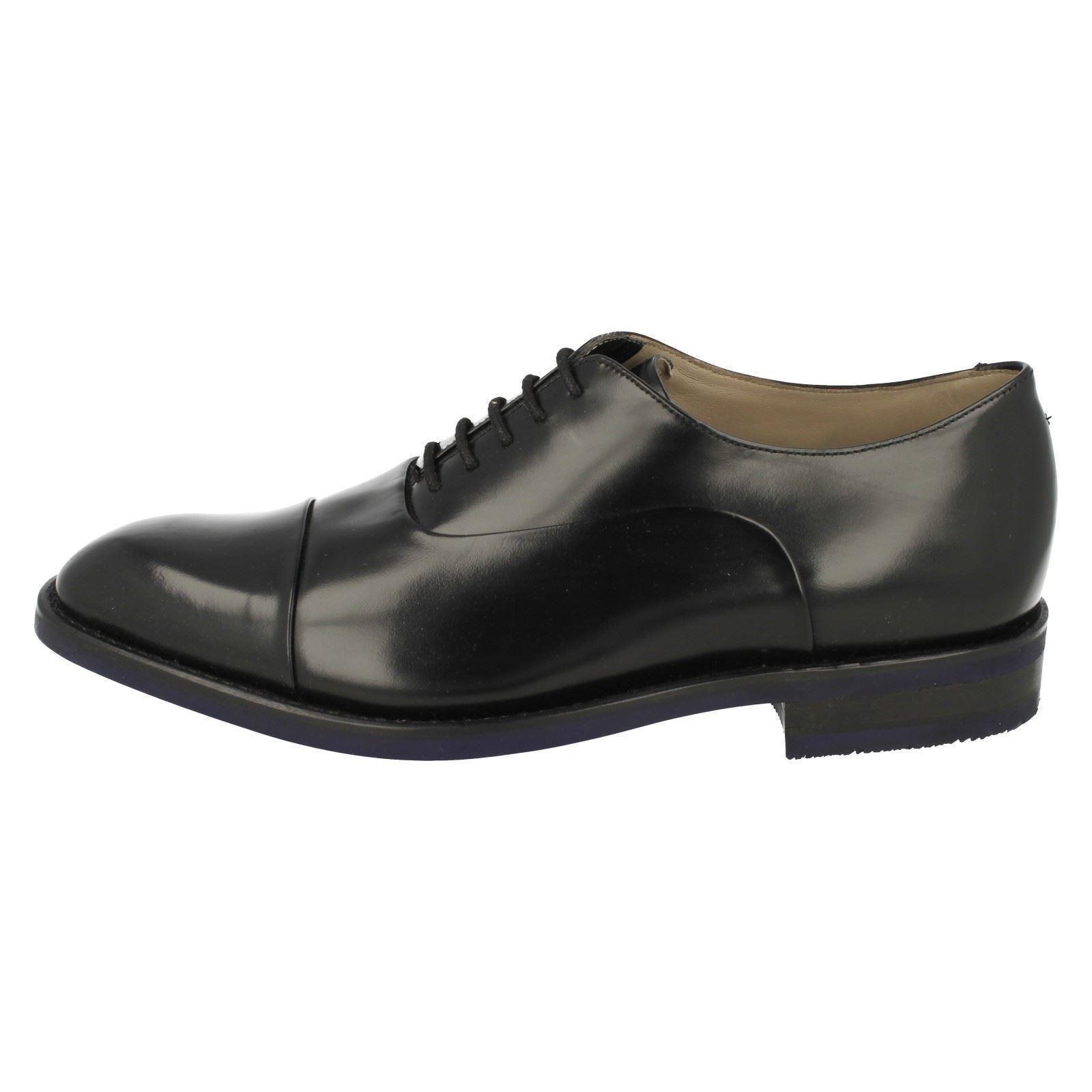 Clarks Chaussures Swinley à Cap Hommes lacets Black formelles ZOPgwdxnq