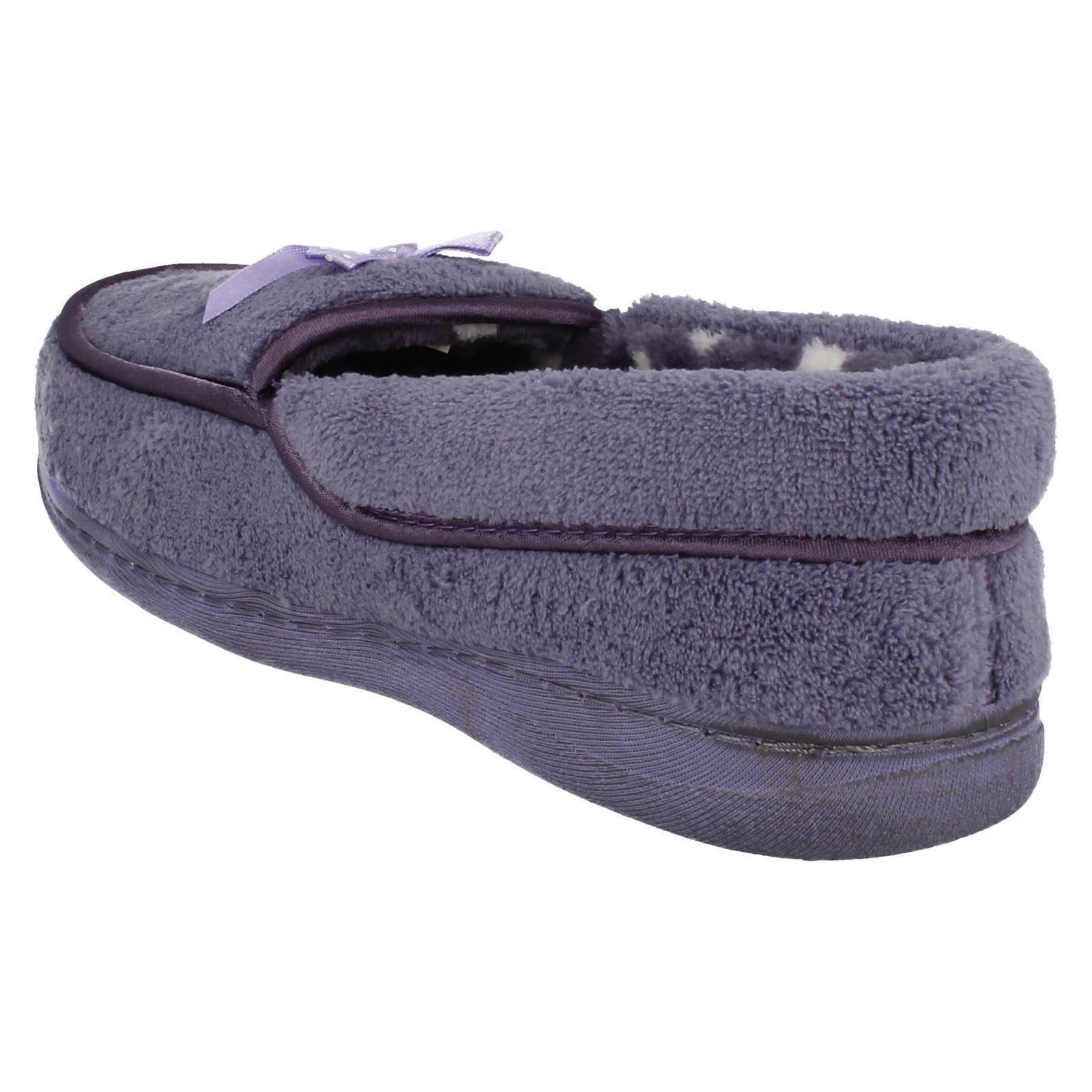 Señoras Jyoti Textil Resbalón en Zapatillas * Riva *