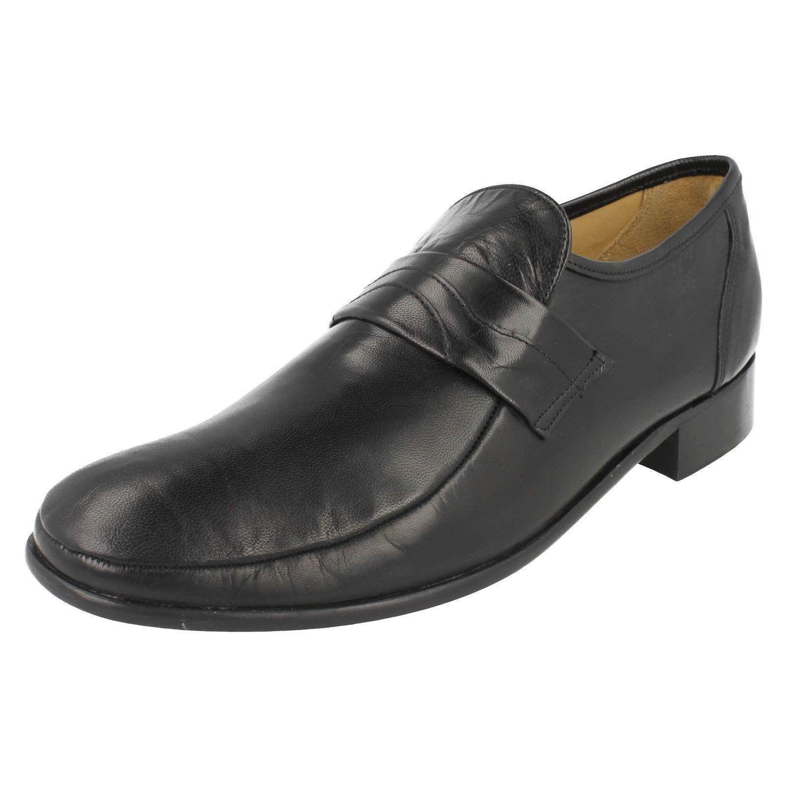 Thomas Thomas Thomas Blaunt Swindon Leather Mens Slip On schuhe adc865