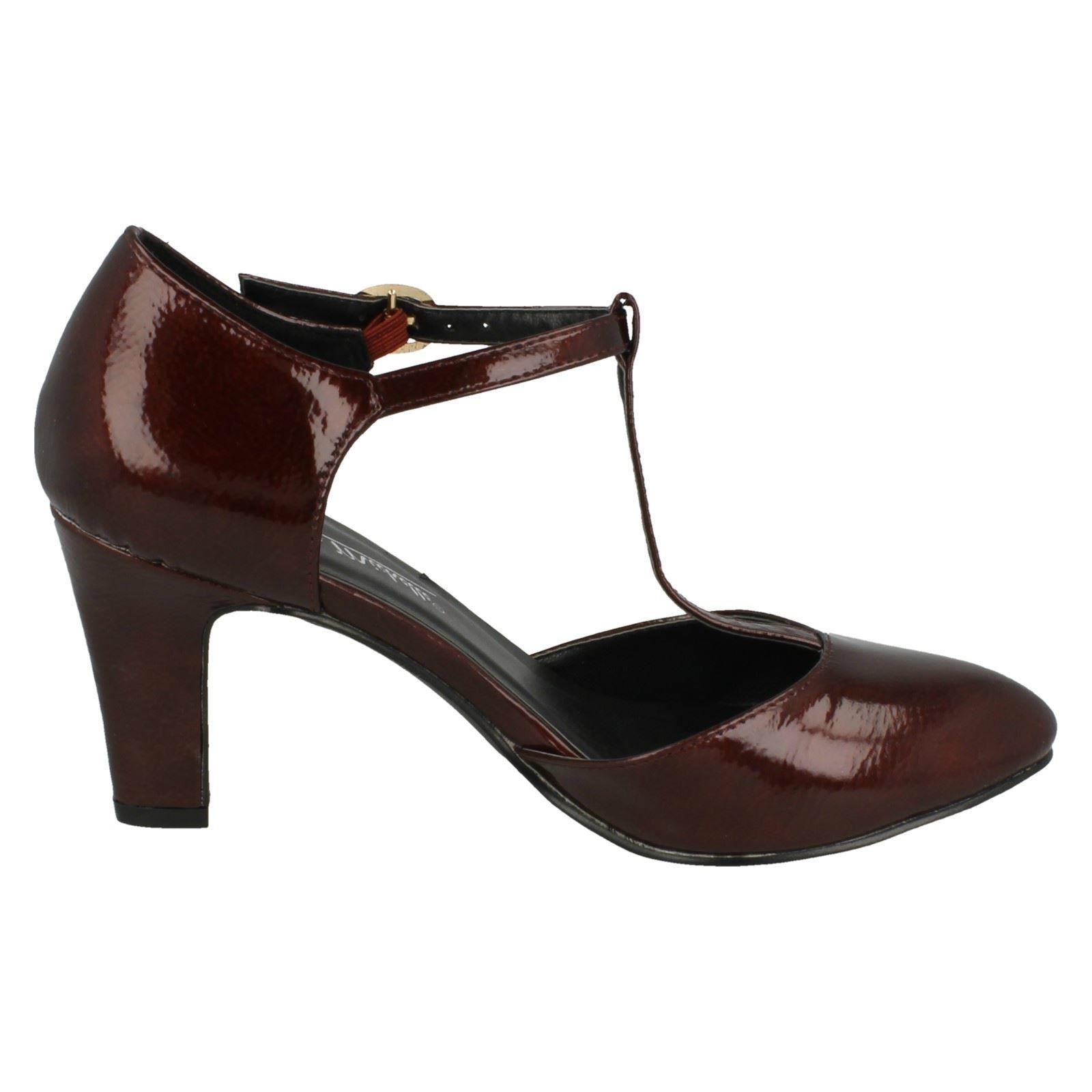 Ladies-Anne-Michelle-T-Bar-Smart-Shoes thumbnail 25