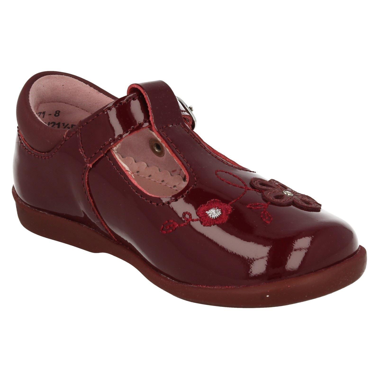 Infantil Niñas Startrite T-Bar Zapatos De Girasol