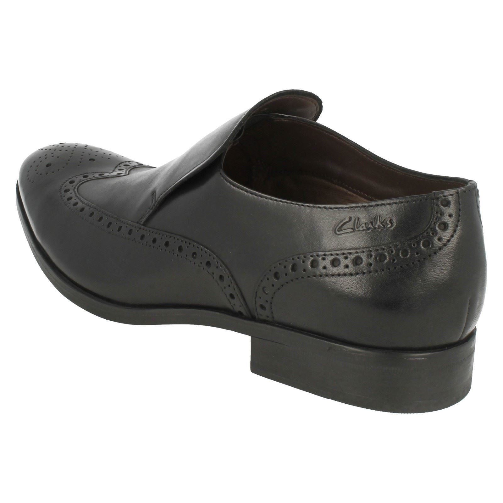 Clarks Mens Banfield Smart Slip On Shoes Banfield Mens Slip 88a1d3