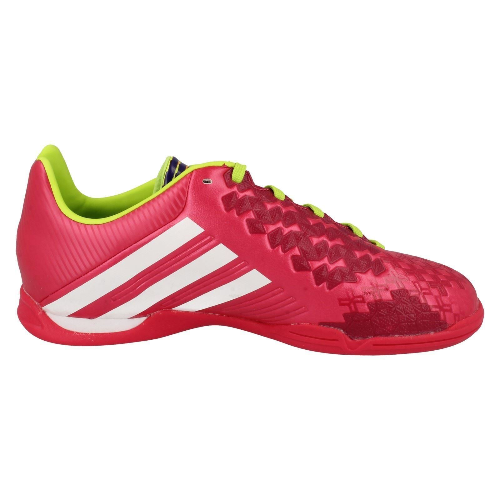 Boys Girls Adidas Lace Up Football/Astro Trainers - P Absolado LZ IN J