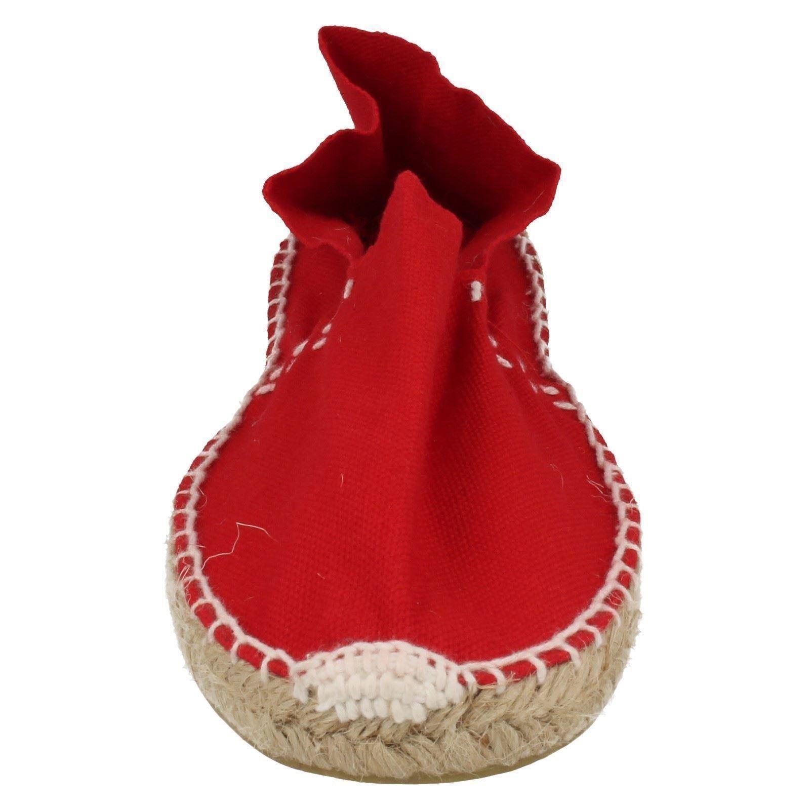 Señoras Lona Alpargatas Zapatos F2083