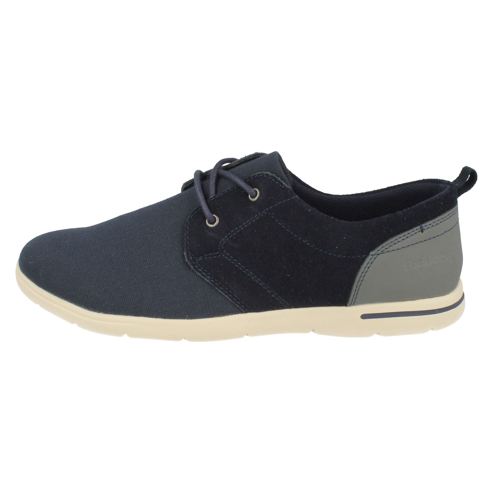 Liam Casual Mens Up Shoes Lace Padders Navy Cz0qXwB