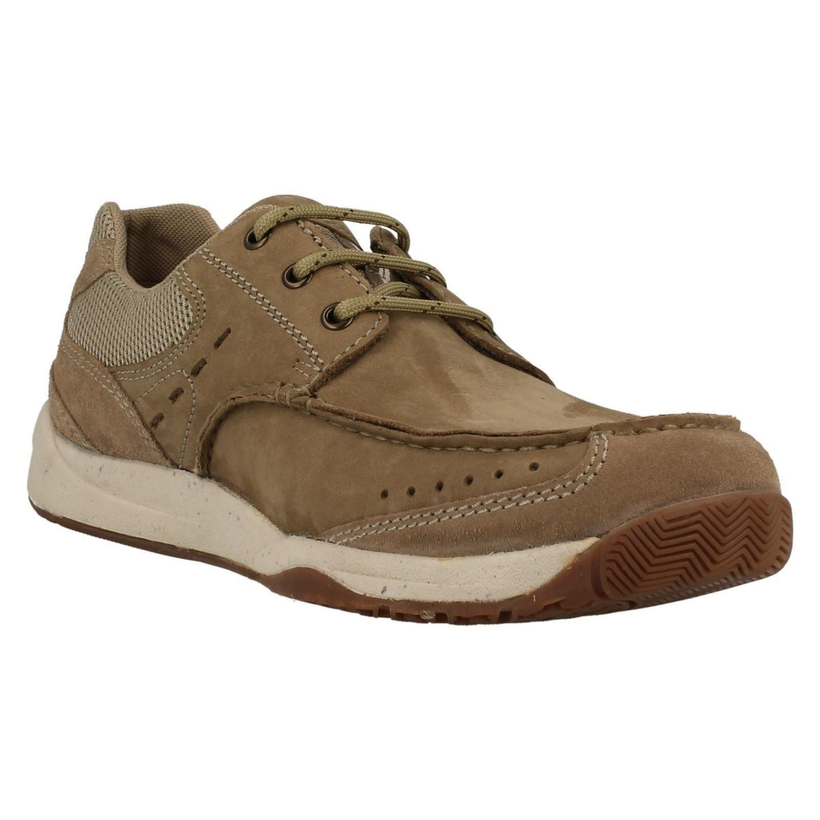 mens clarks casual lace up shoes allston edge ebay