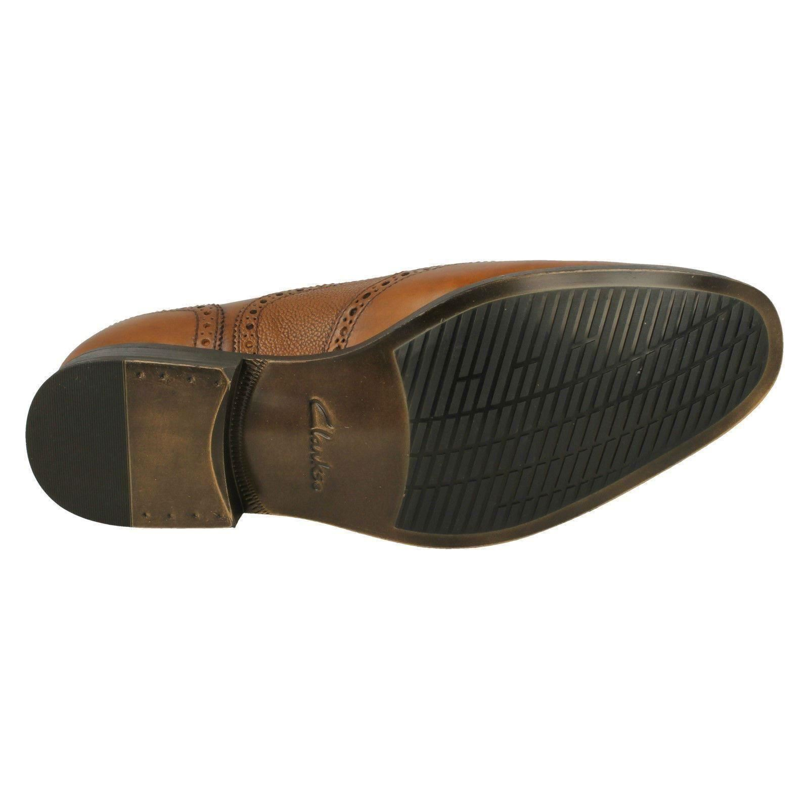 Para Clarks Hombre Clarks Para Zapatos Con Cordones Estilo-límite de Gilmore 8ce089