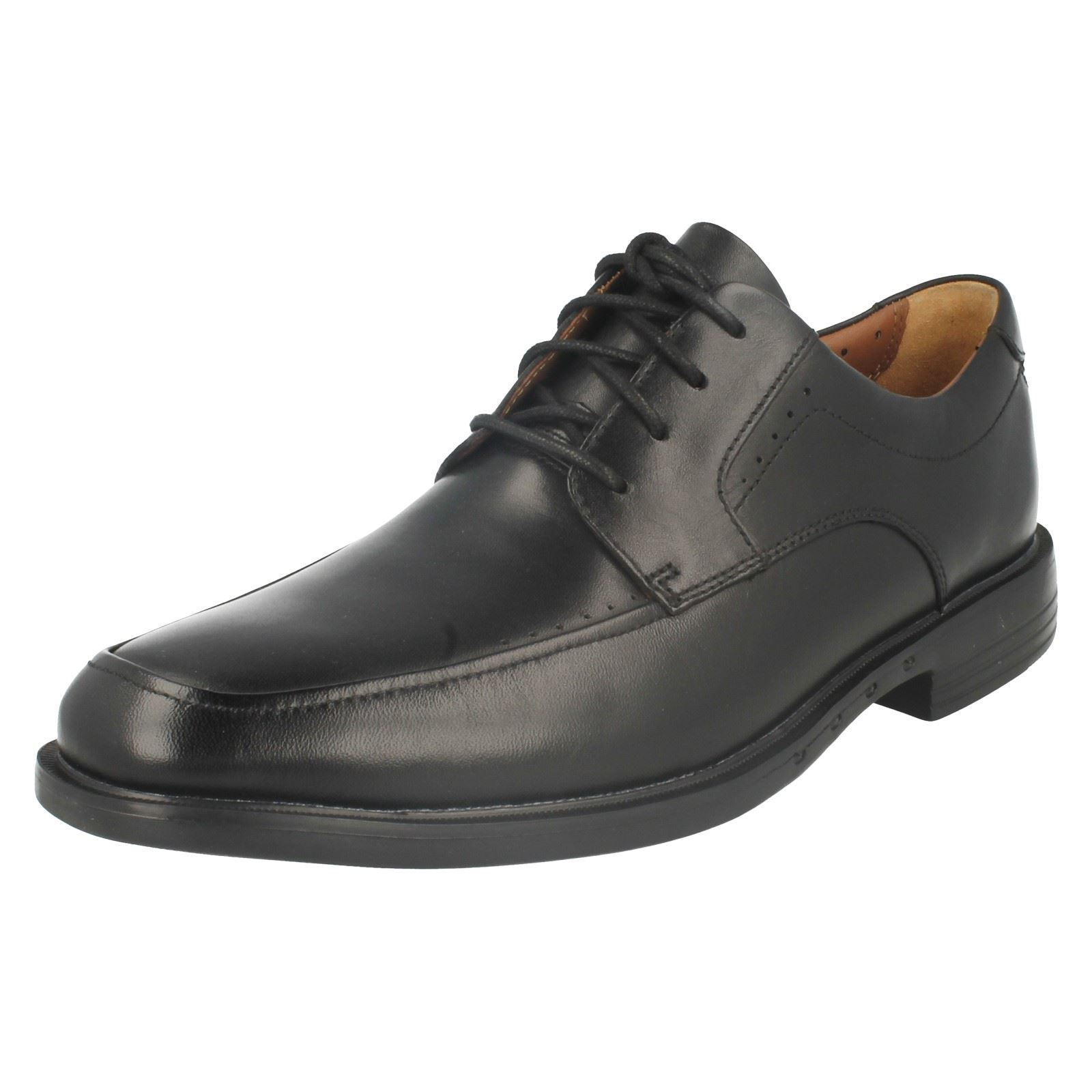 Mens Clarks Unstructured Formal Lace Up Shoes 'Unbizley View'