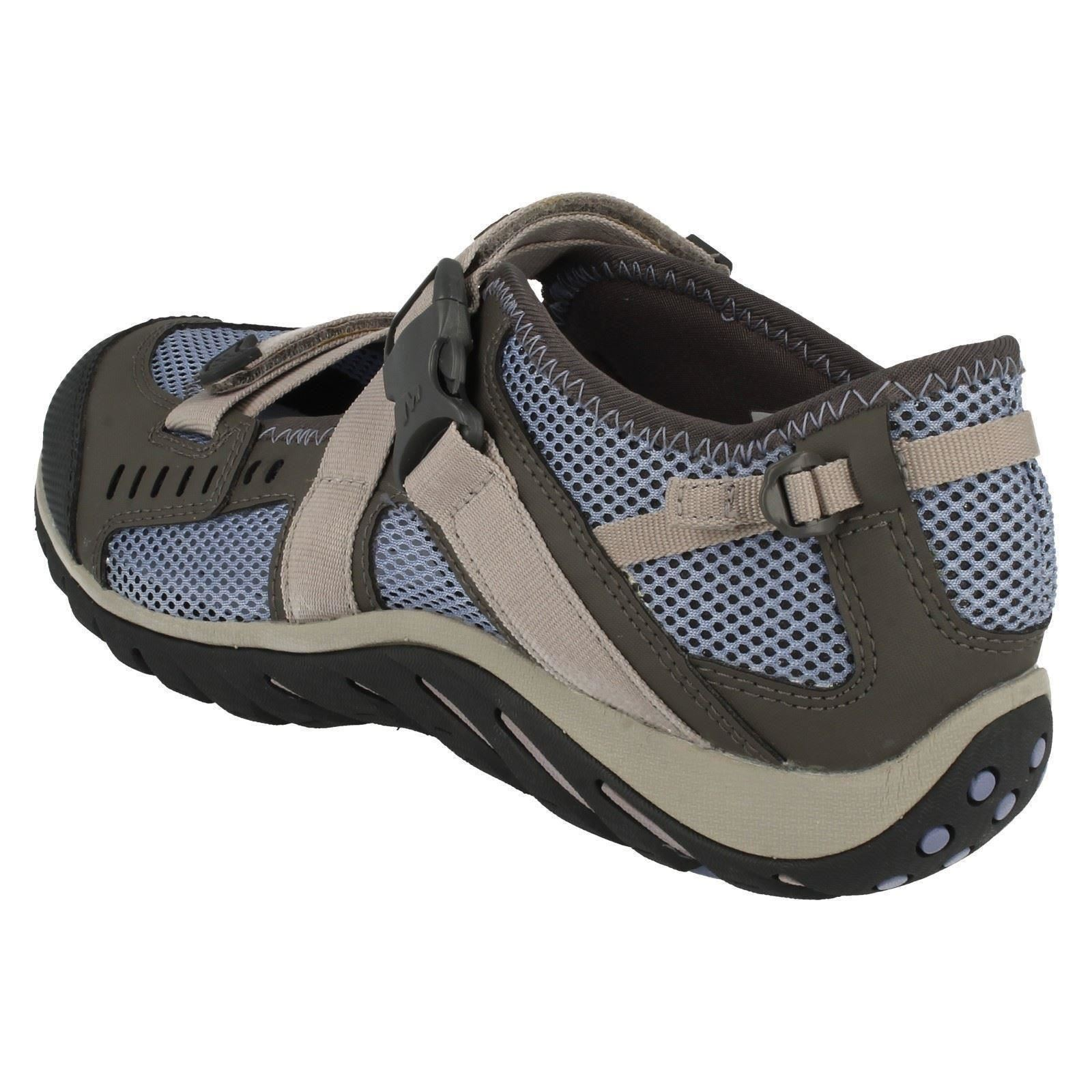 Ladies-Merrell-Buckle-Fastened-Casual-Shoes-Waterpro-Crystal-J82284 thumbnail 4