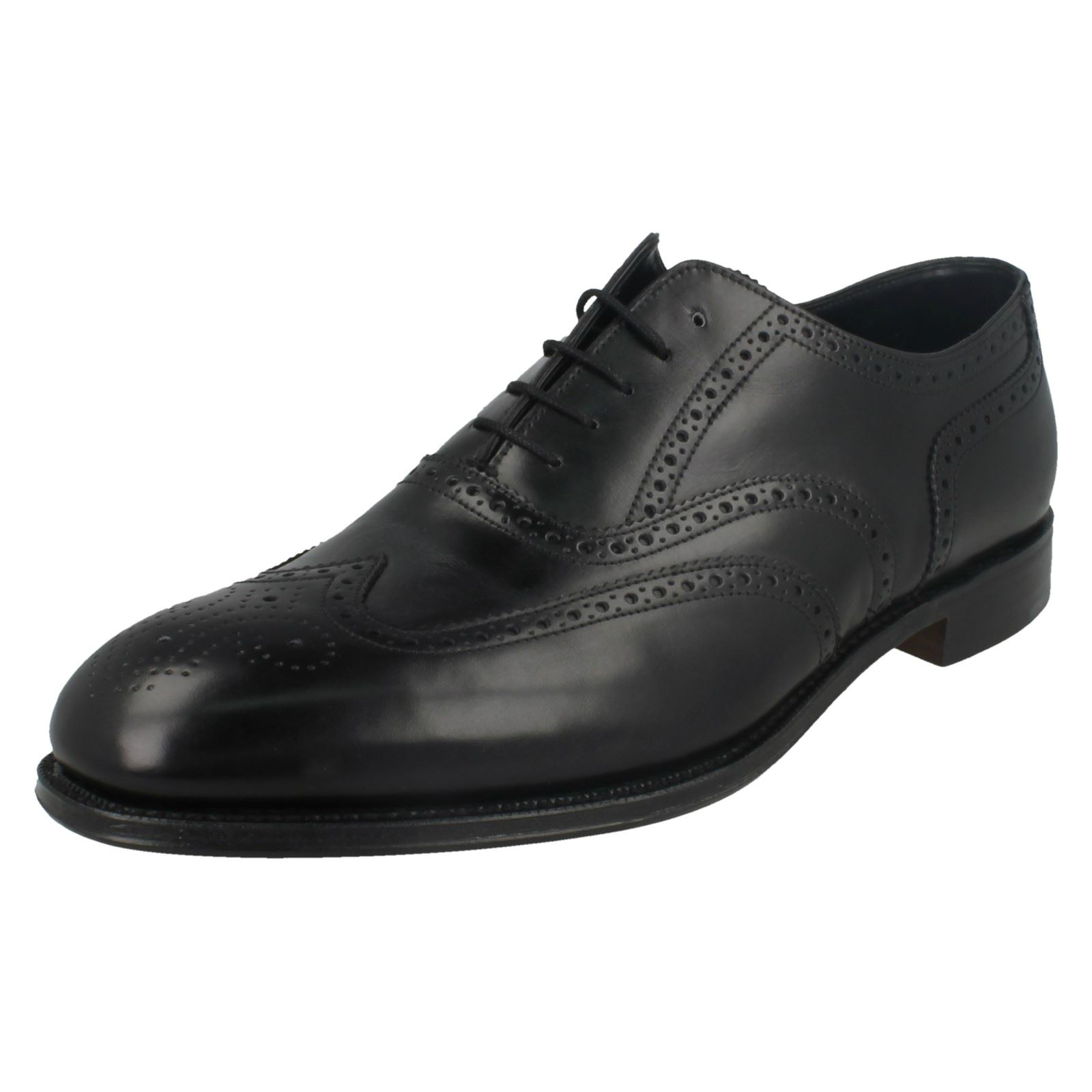 Da Uomo Loake In In In Pelle Lacci Punta Arrotondata CALATA SMART shoes -