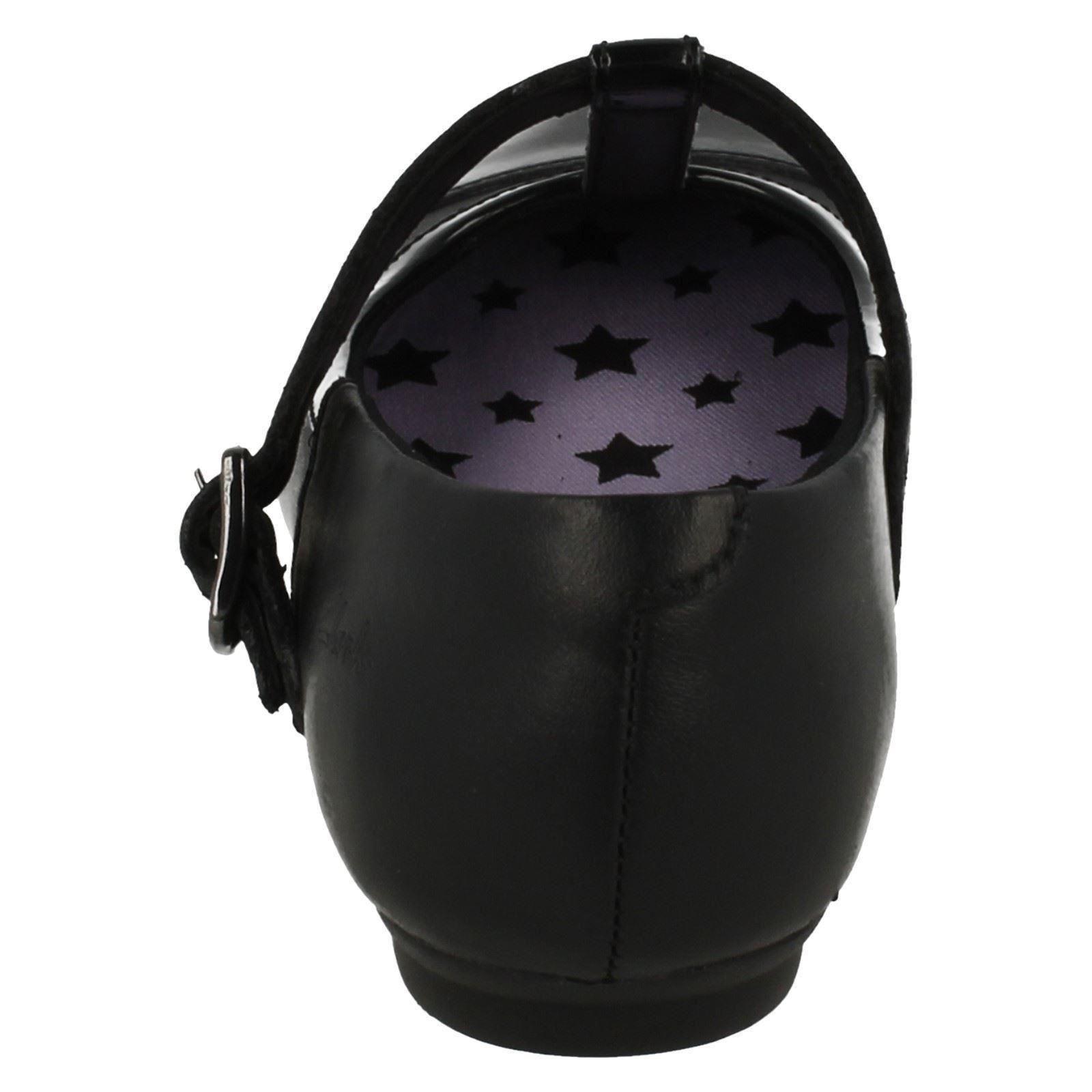 bar Black para Zapatos Clarks escolares Abitha T niñas Smart Mist 7FnTIqw