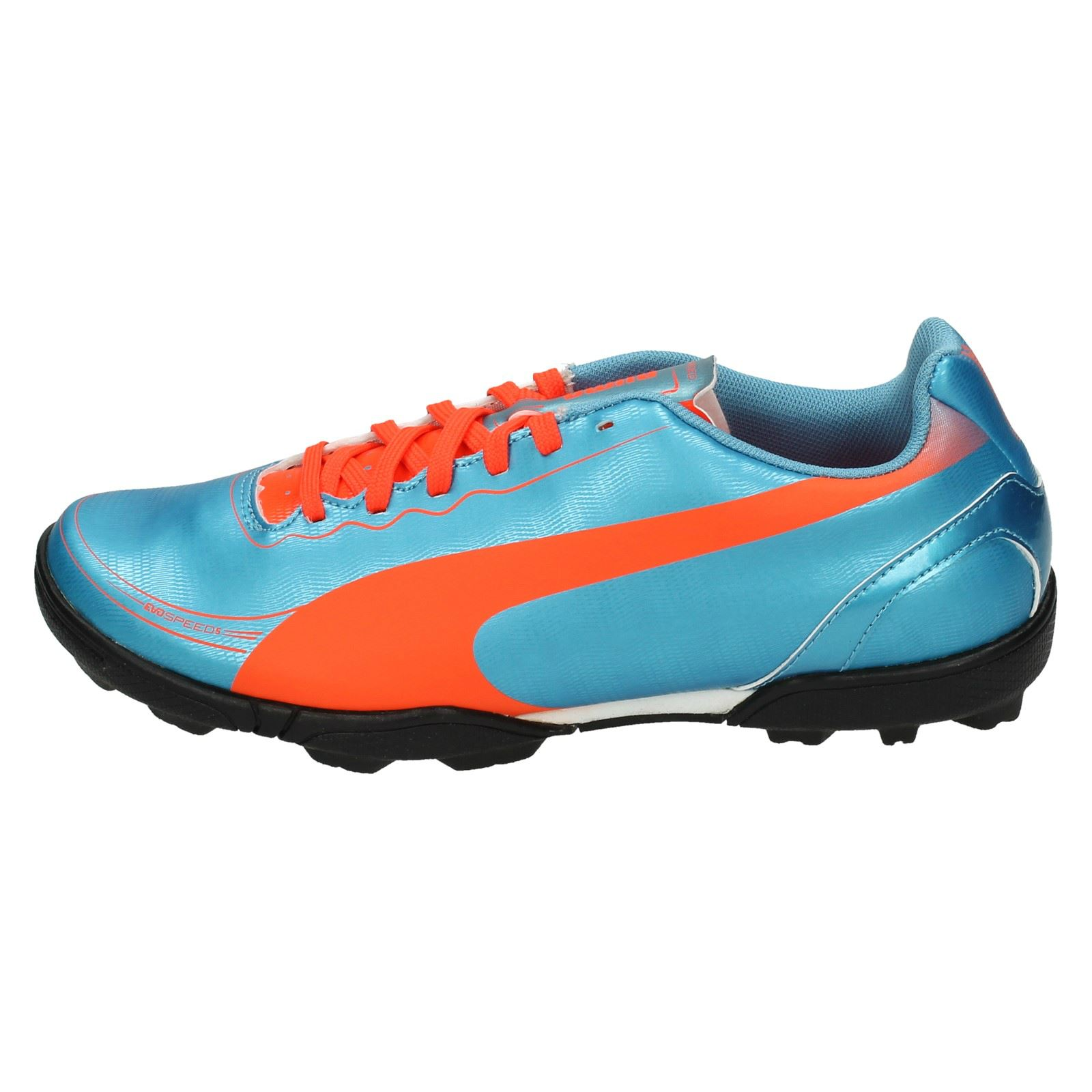 4ec3b3f1d4b3 Details about Puma Boys Astro Turf Football Trainers  Evo Speed 5.2 TT JR