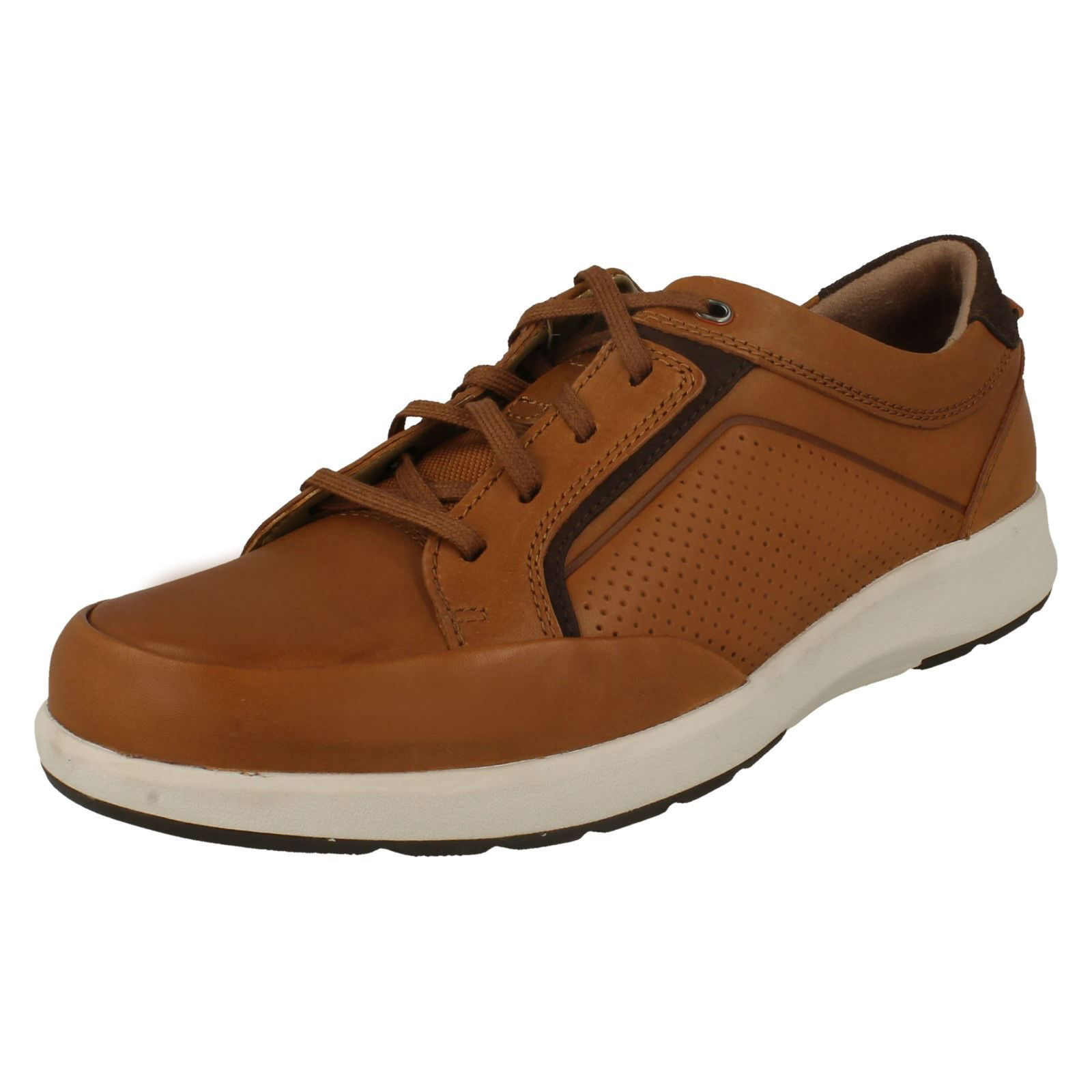 Mens Clarks-Casual Lace Up shoes Un Trail Form