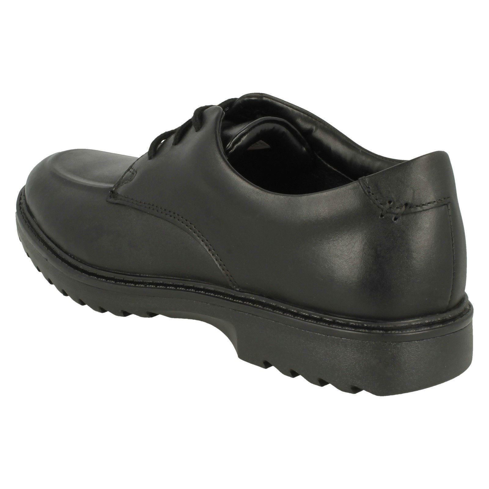5e072d273 Boys Clarks Lace Up Formal Shoes  Asher Grove