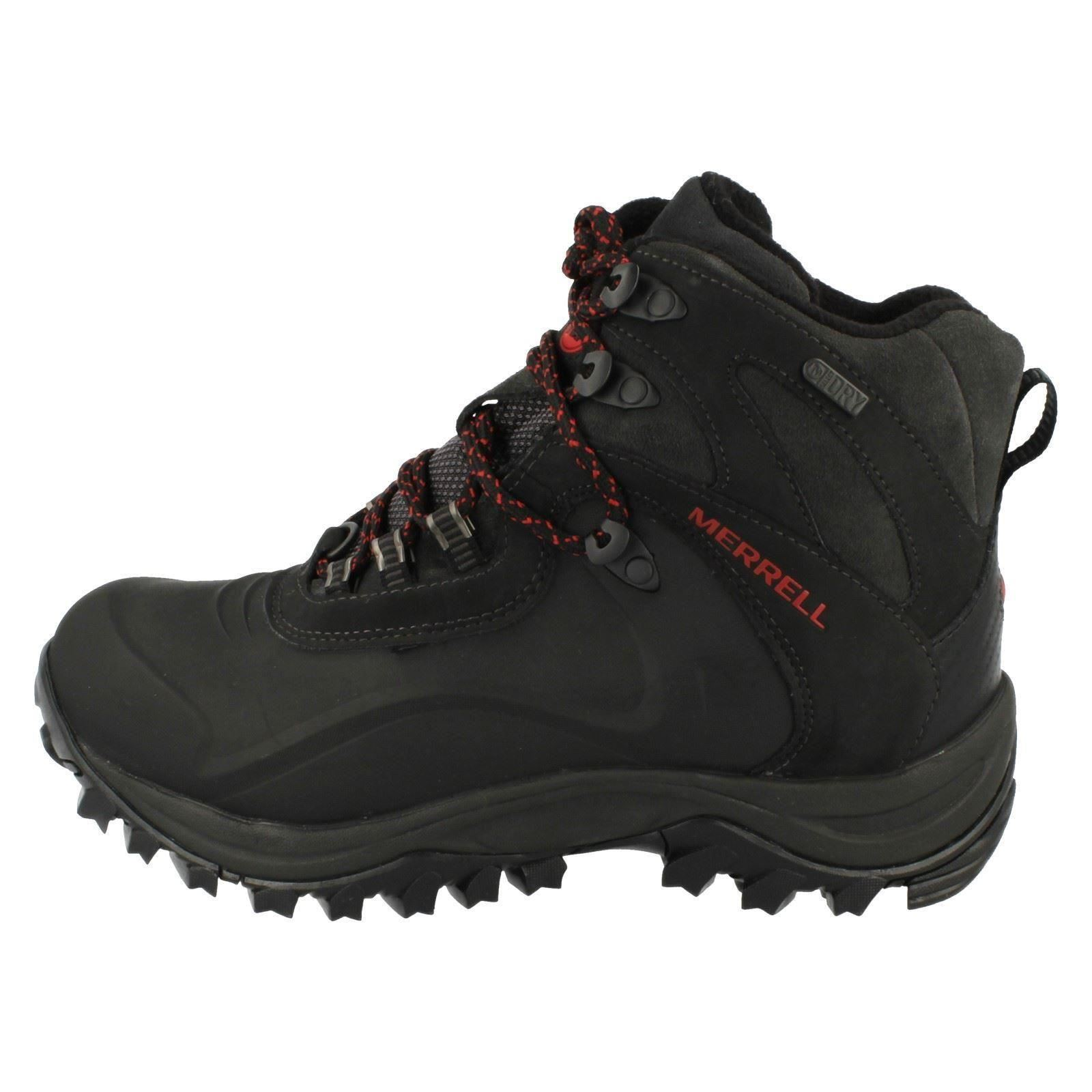 Mens Merrell Waterproof Lace Up Boots Iceclaw Mid J41907