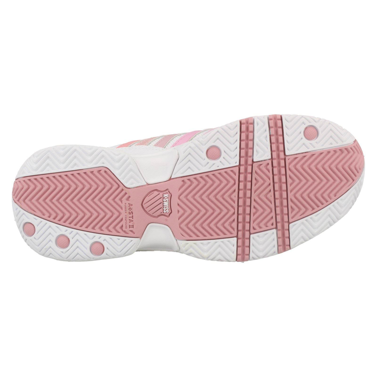 K Swiss Con Cordones Zapatillas-hacer caso omiso señoras