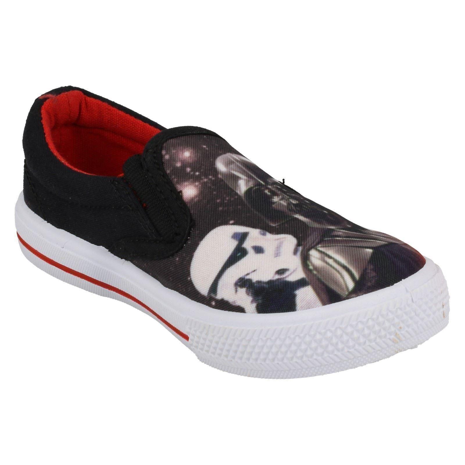 Garcons-Star-Wars-Slip-Sur-Toile-Chaussure-Fairview