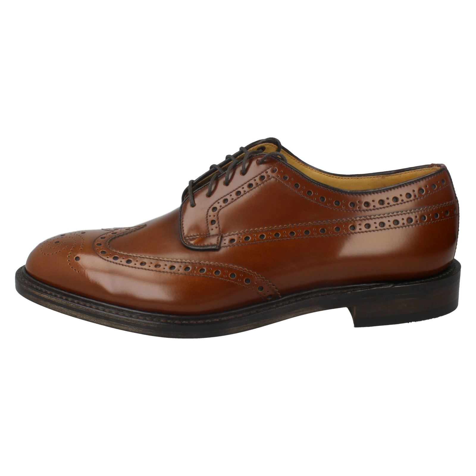 Schuhes Uomo Loake Formal Brogue Schuhes  Braemar d0d9f9