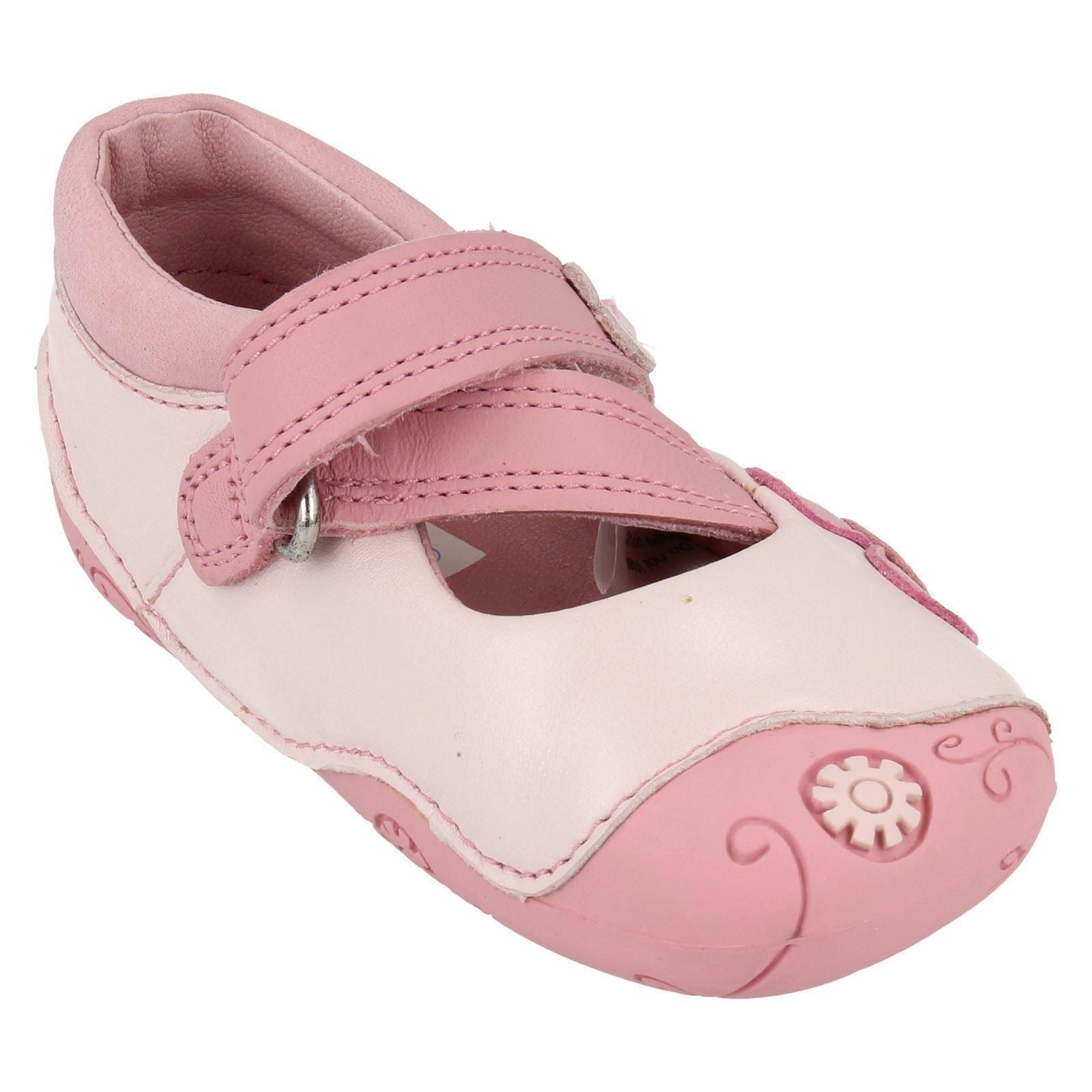 Clarks Girls Casual Flat Shoes - Dizi Days