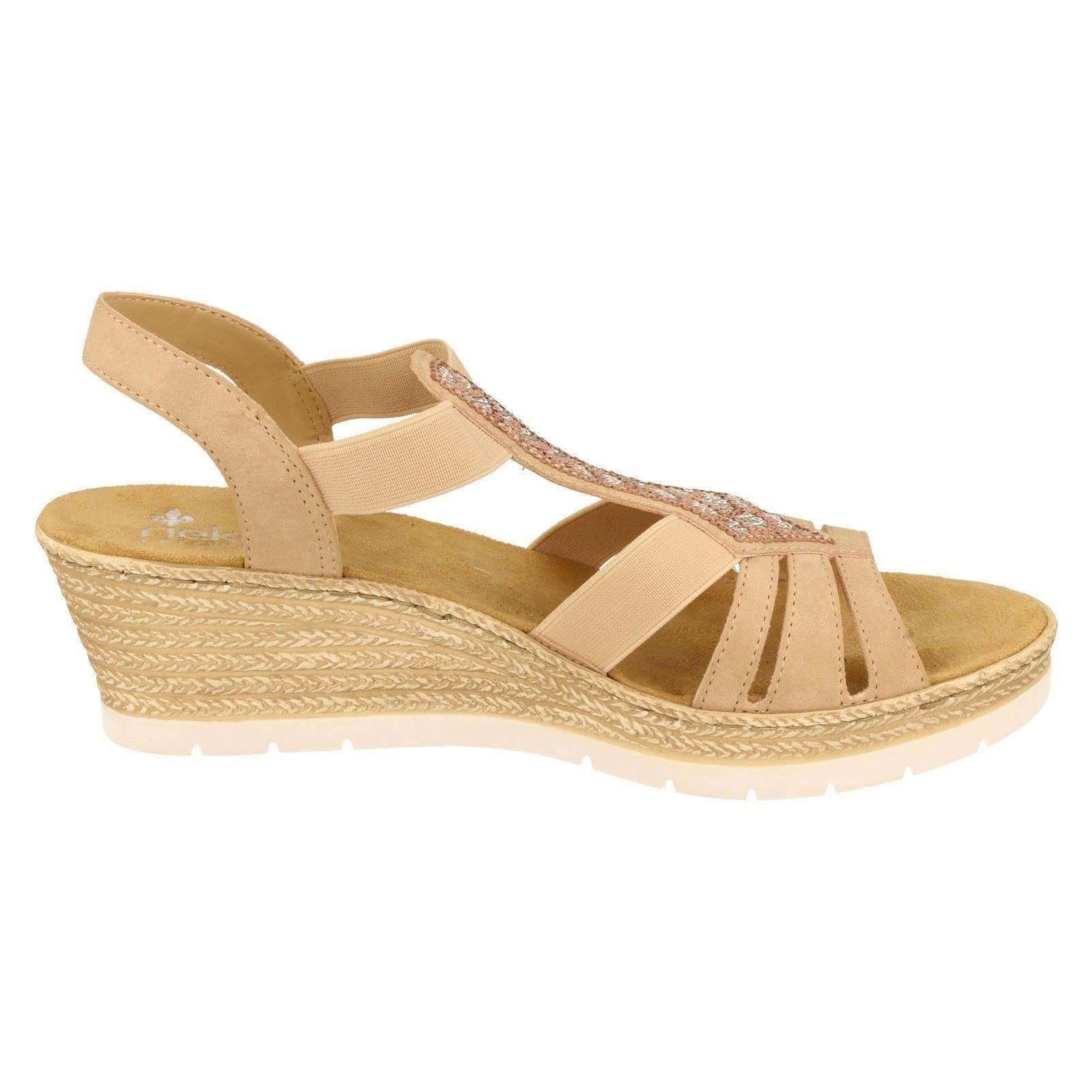 Ladies Rieker Rieker Rieker Casual Sandals 61913 4f098a