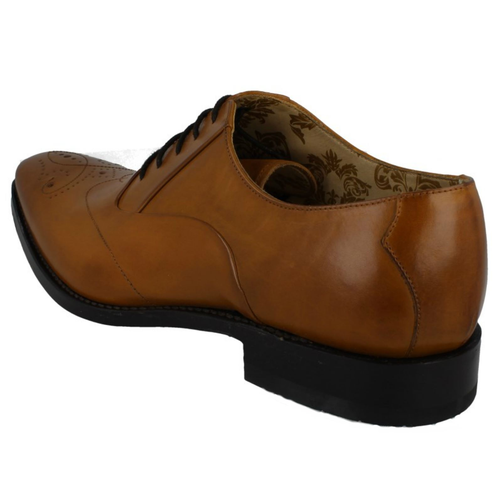 'Mens Loake' Smart Leather Leather Leather Lace Up schuhe - Gunny  5b1adf