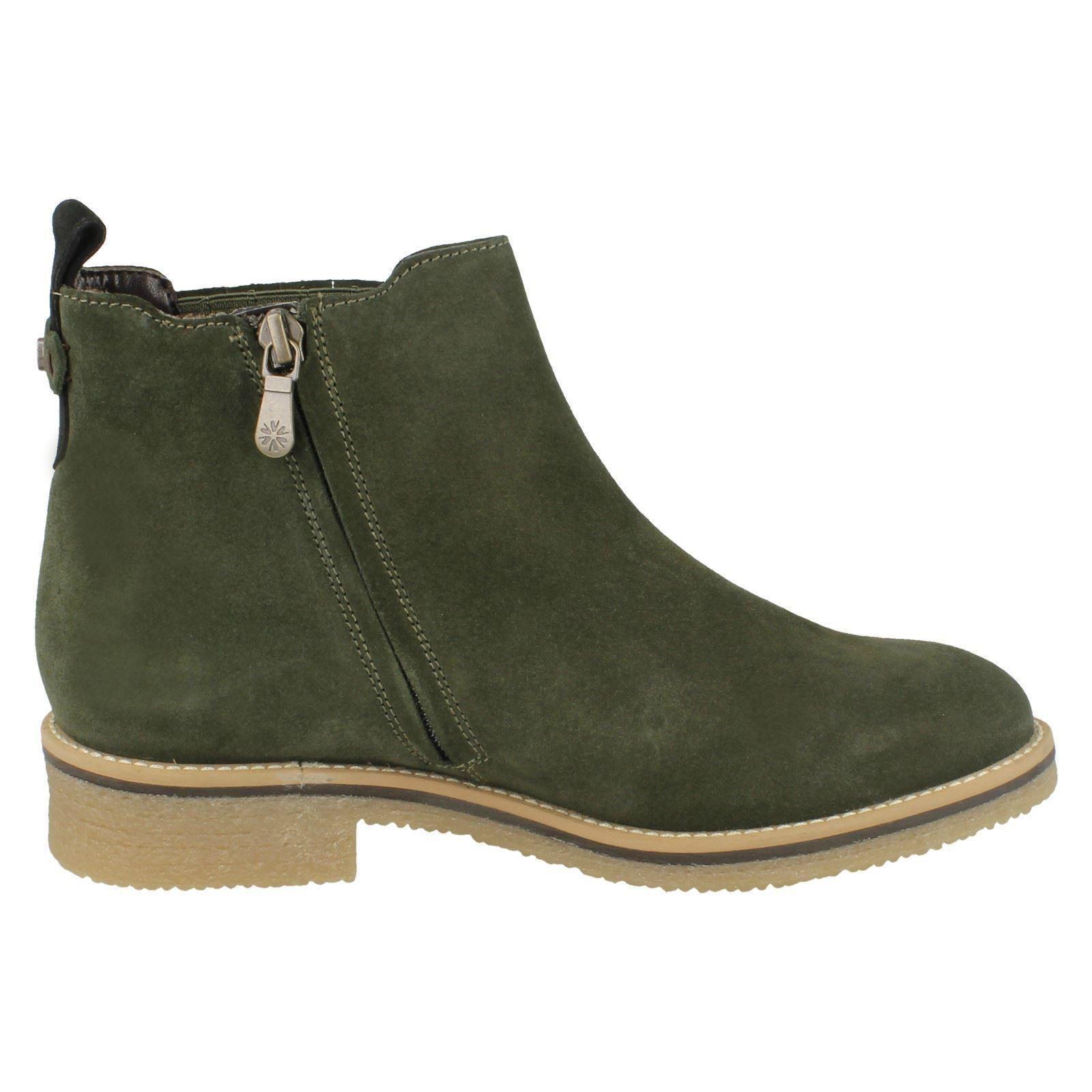 Boots Ladies Dal Moss Van green Mineral Ankle wFzq1TnFrI