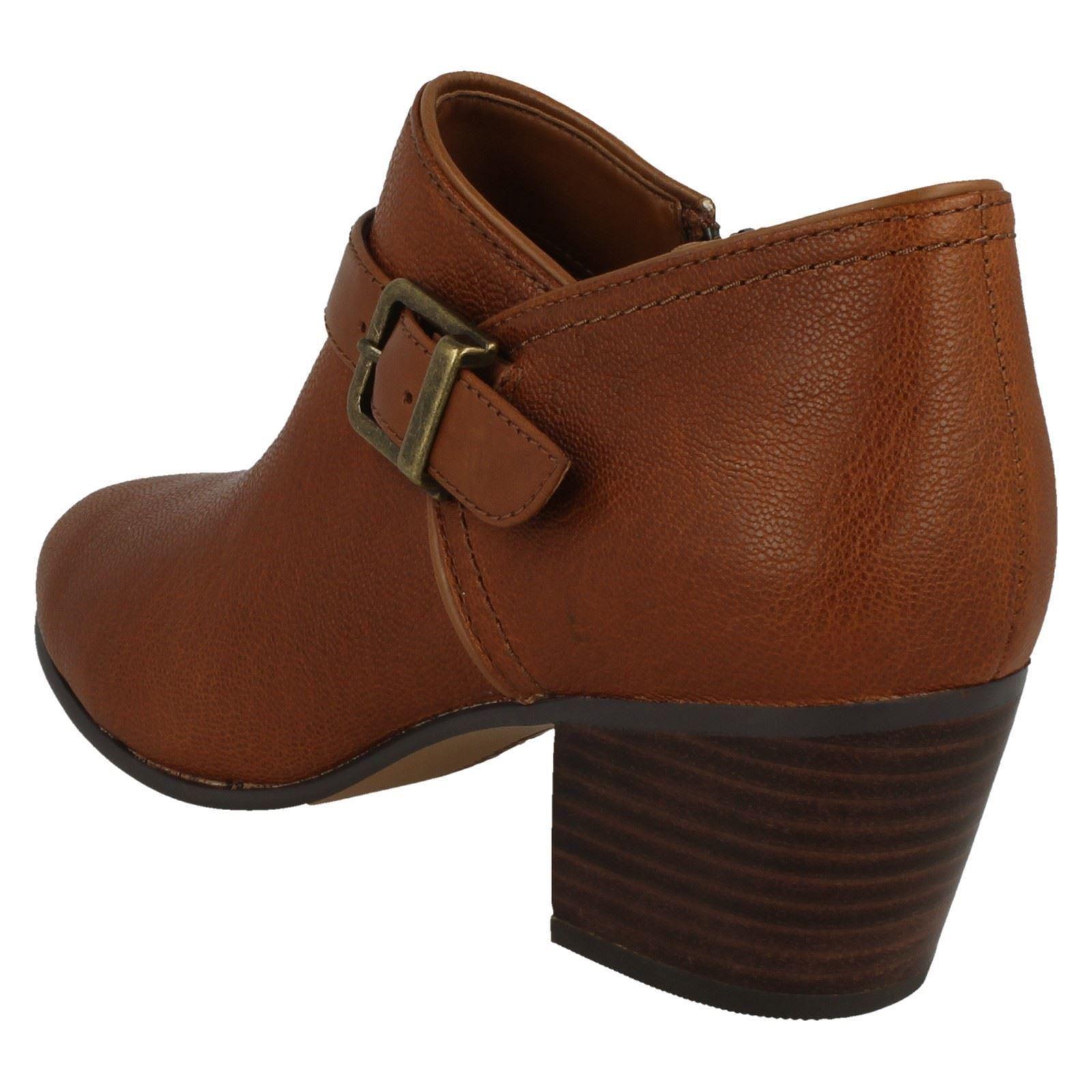 Damas Clarks Hebilla detallado botas al al al Tobillo maypearl Milla 671546