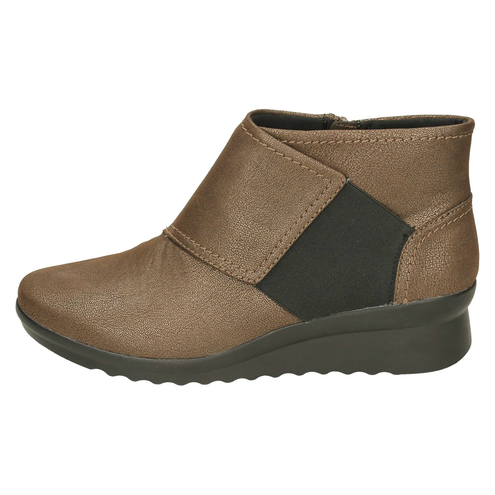 ef0f7a885e7 Ladies Clarks Caddell Rush Ankle Boots
